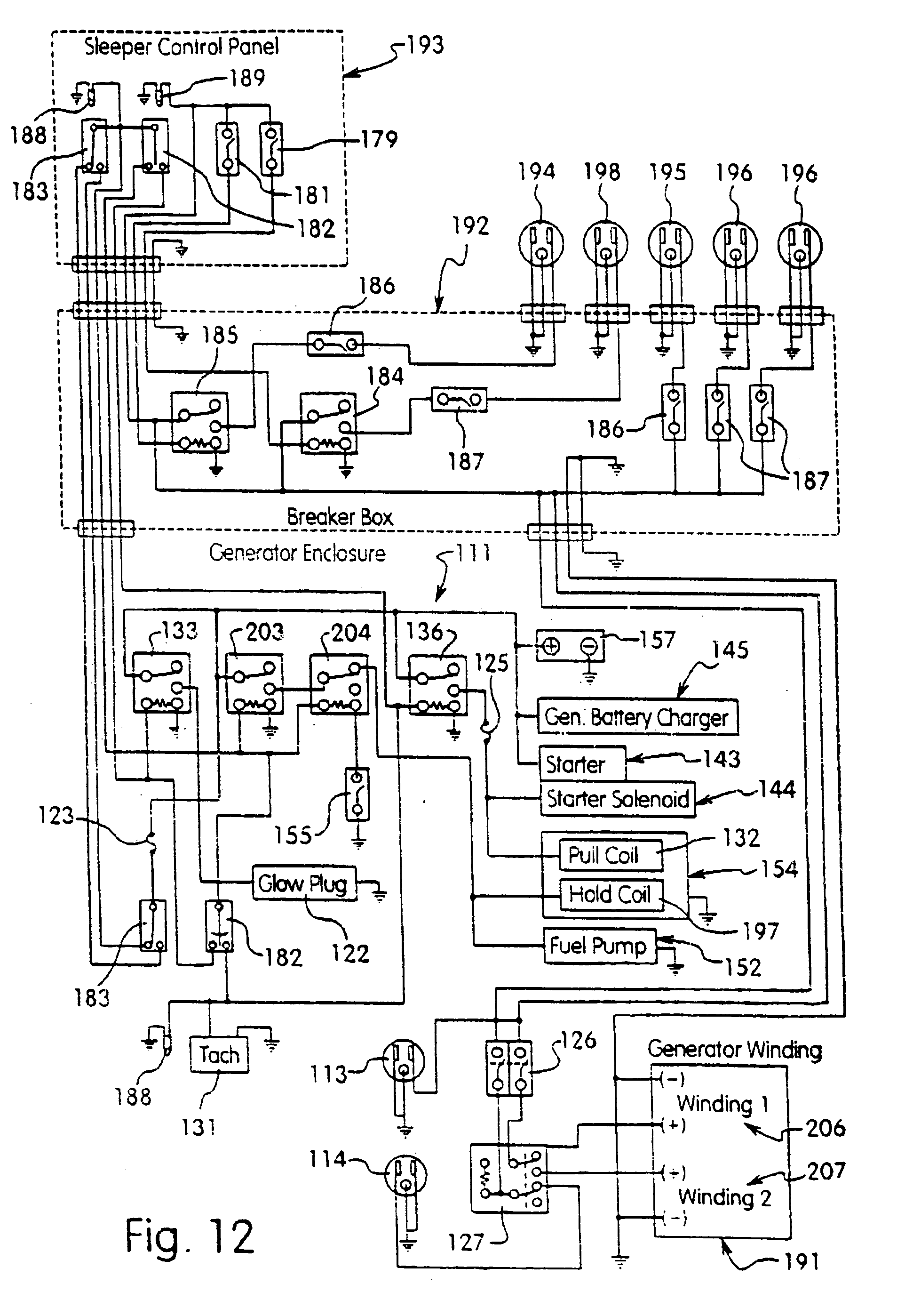 US20050016713A1 20050127 D00008 patent us20050016713 apparatus which eliminates the need for thermo king alternator wiring diagram at bakdesigns.co