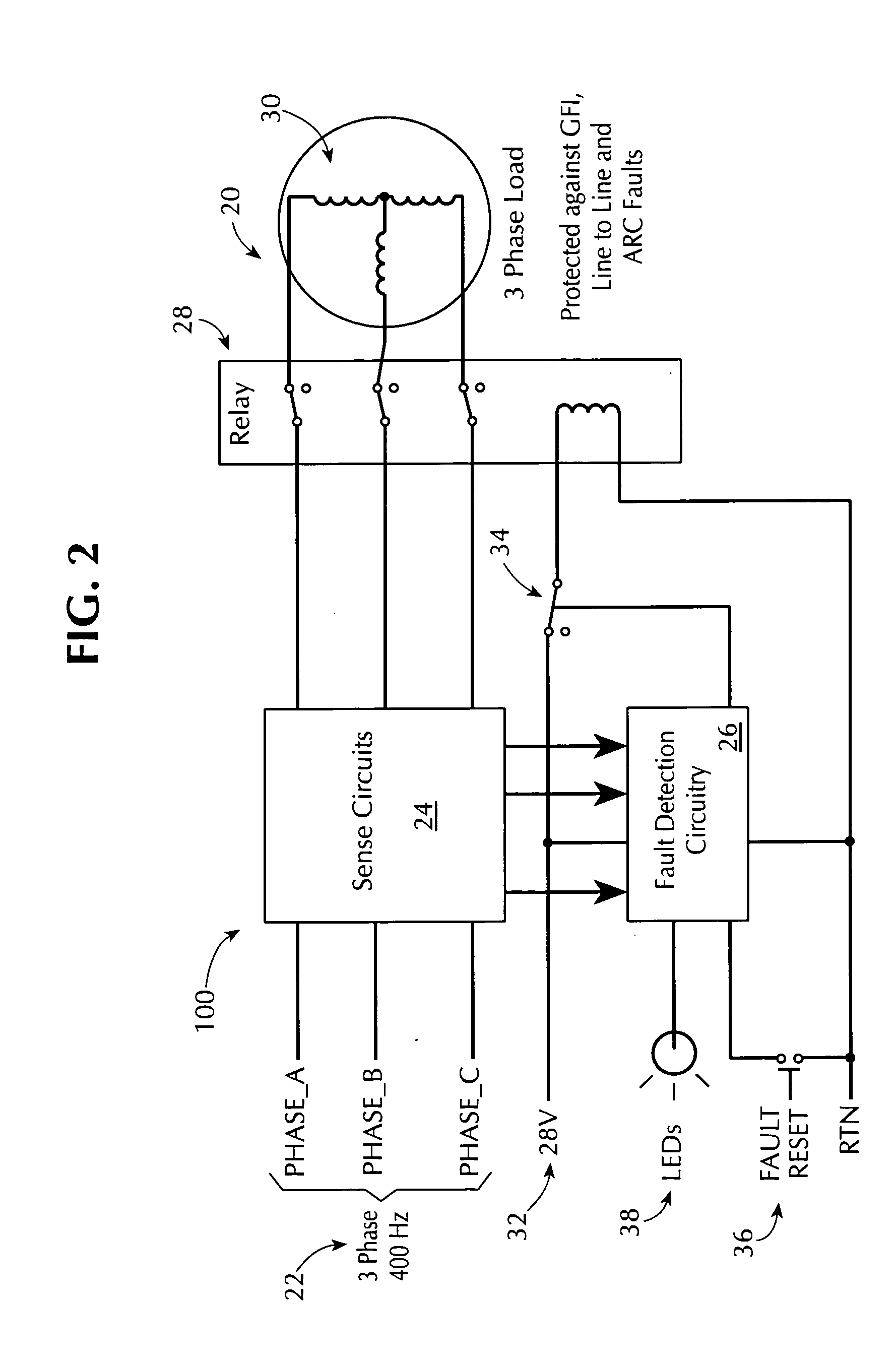 Patent Us20050018371 Systems And Methods For Fault Based Power Arcfault Circuit Breakers Prevent Fires Absolute Electric Drawing