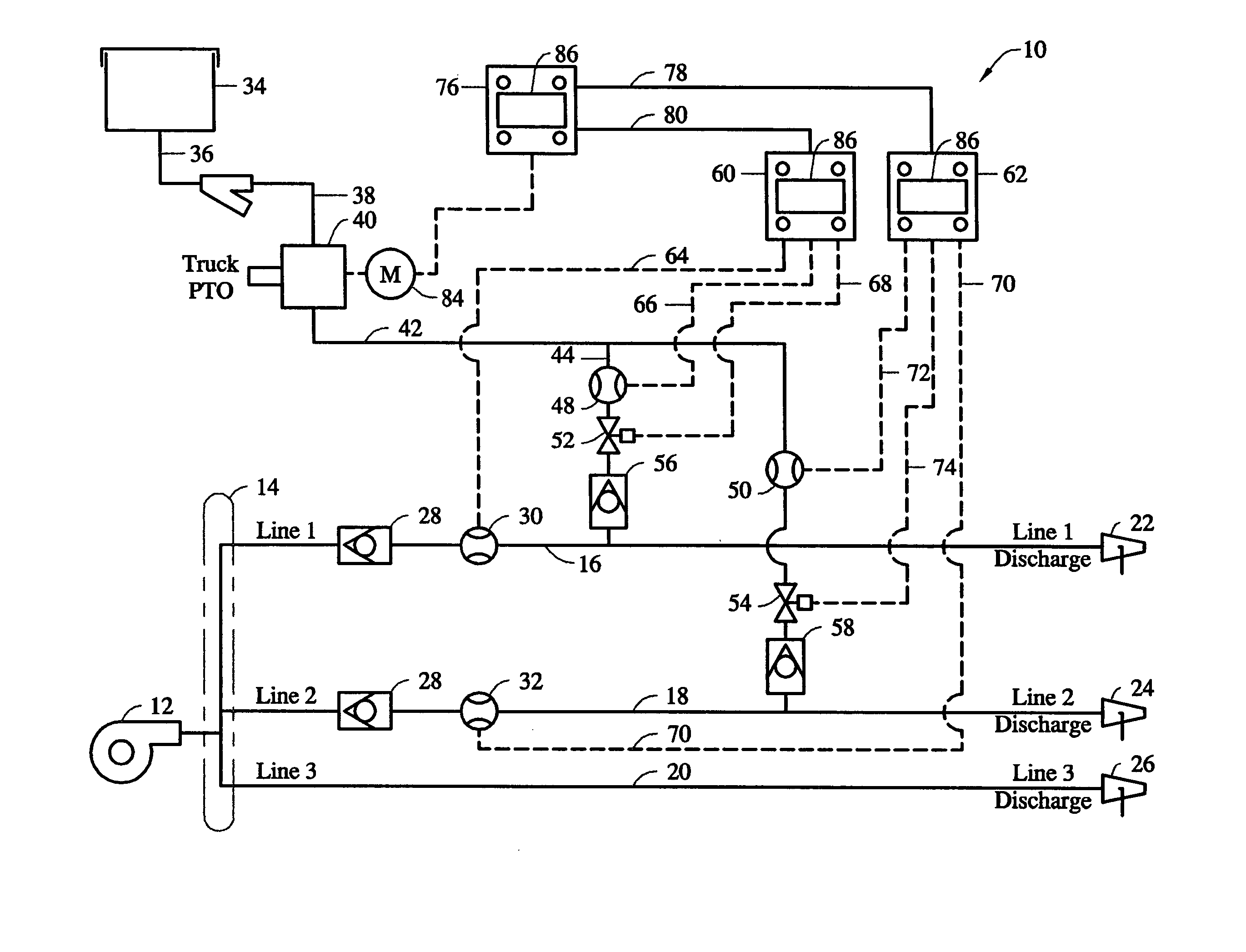 US20050045345A1 20050303 D00000 patent us20050045345 high flow foam system for fire fighting ansul system wiring schematic at crackthecode.co