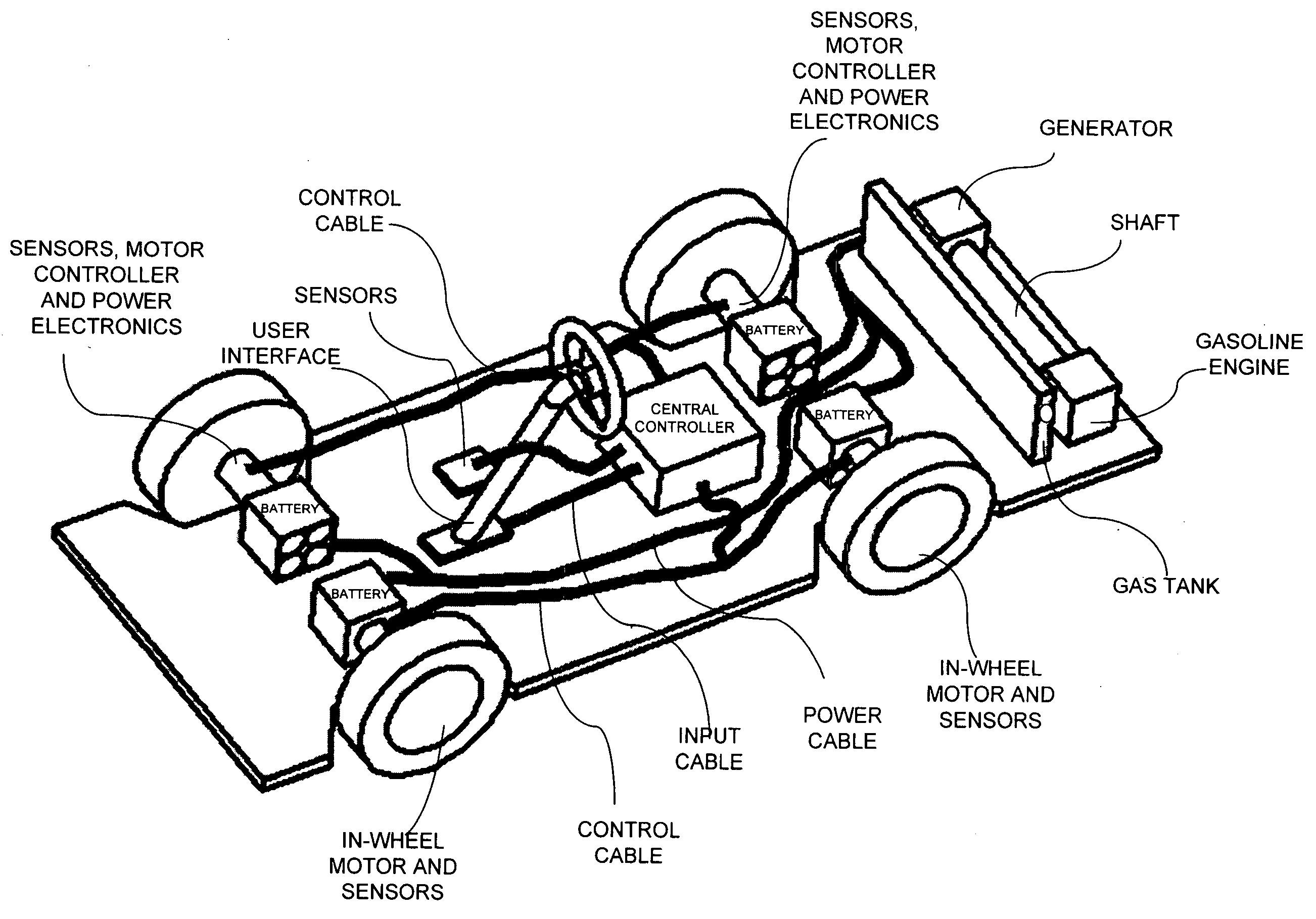 patent us20050045392 - in-wheel electric motors