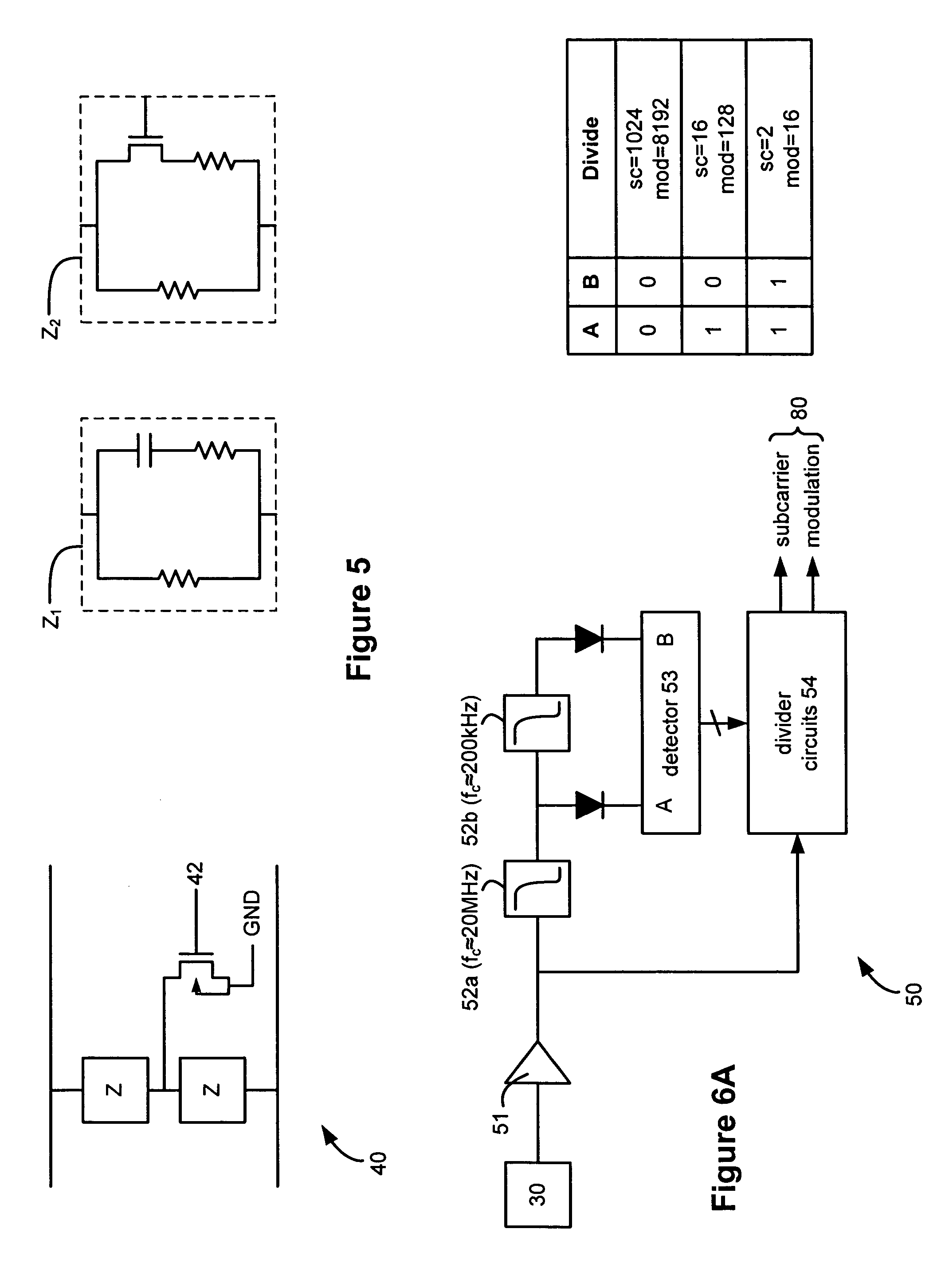 Patent Us20050052283 Method And Apparatus For Multiple Frequency Passive Rfid Tag Circuit Diagram Far Field Drawing