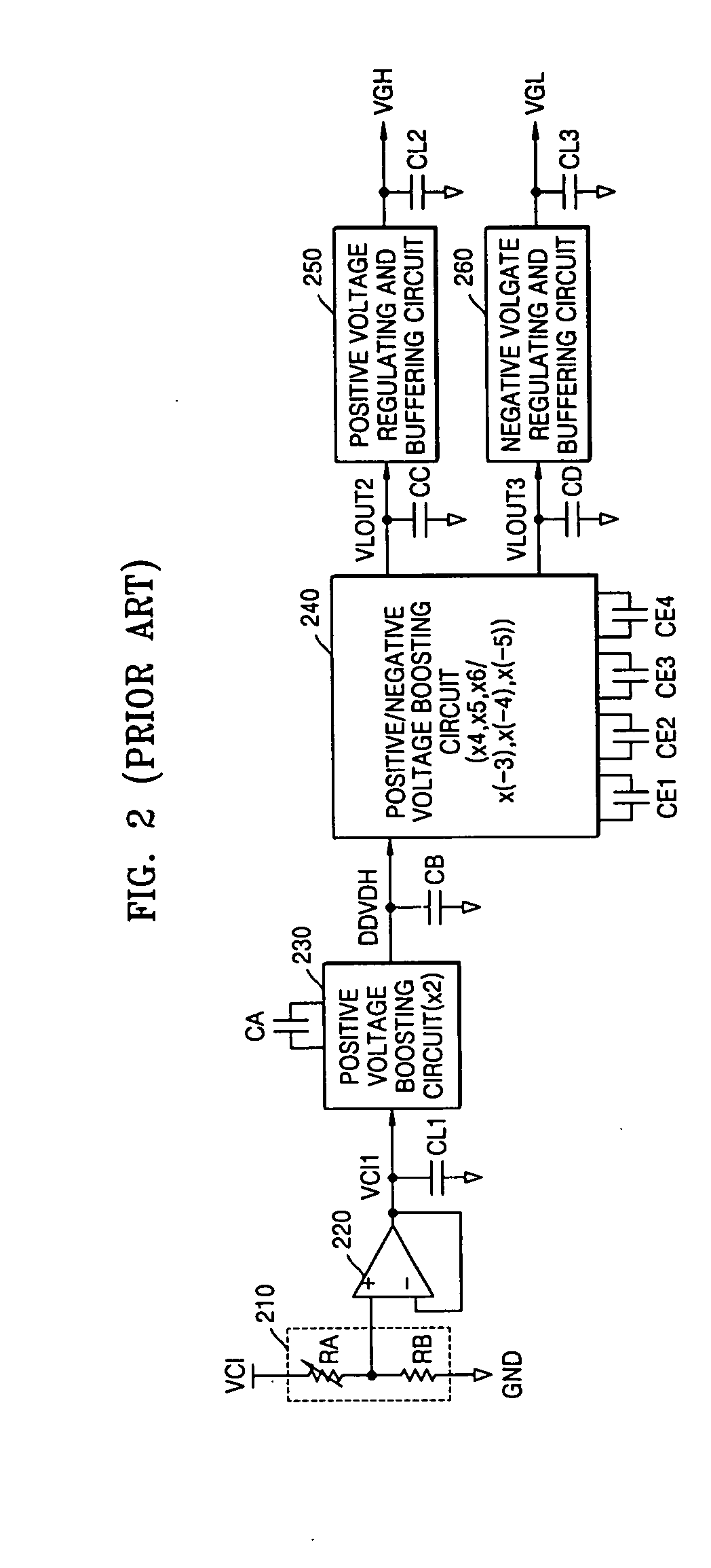 Patent Us20050062520 Power Boosting System And Method Google Patents Circuit Diagram Positive Negative Drawing
