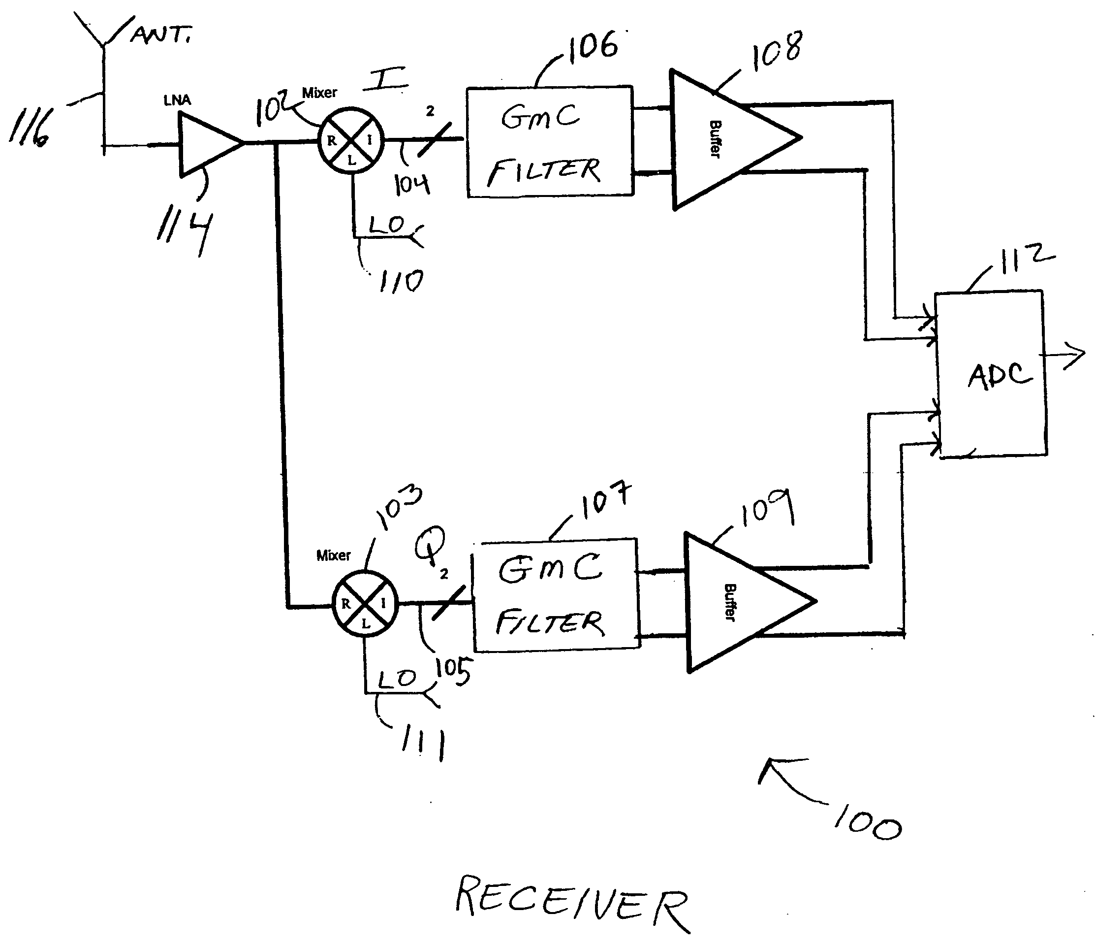 patent us20050064839 direct down conversion receiver with 3 Axis Wireless Surveillance Camera Kits patent drawing