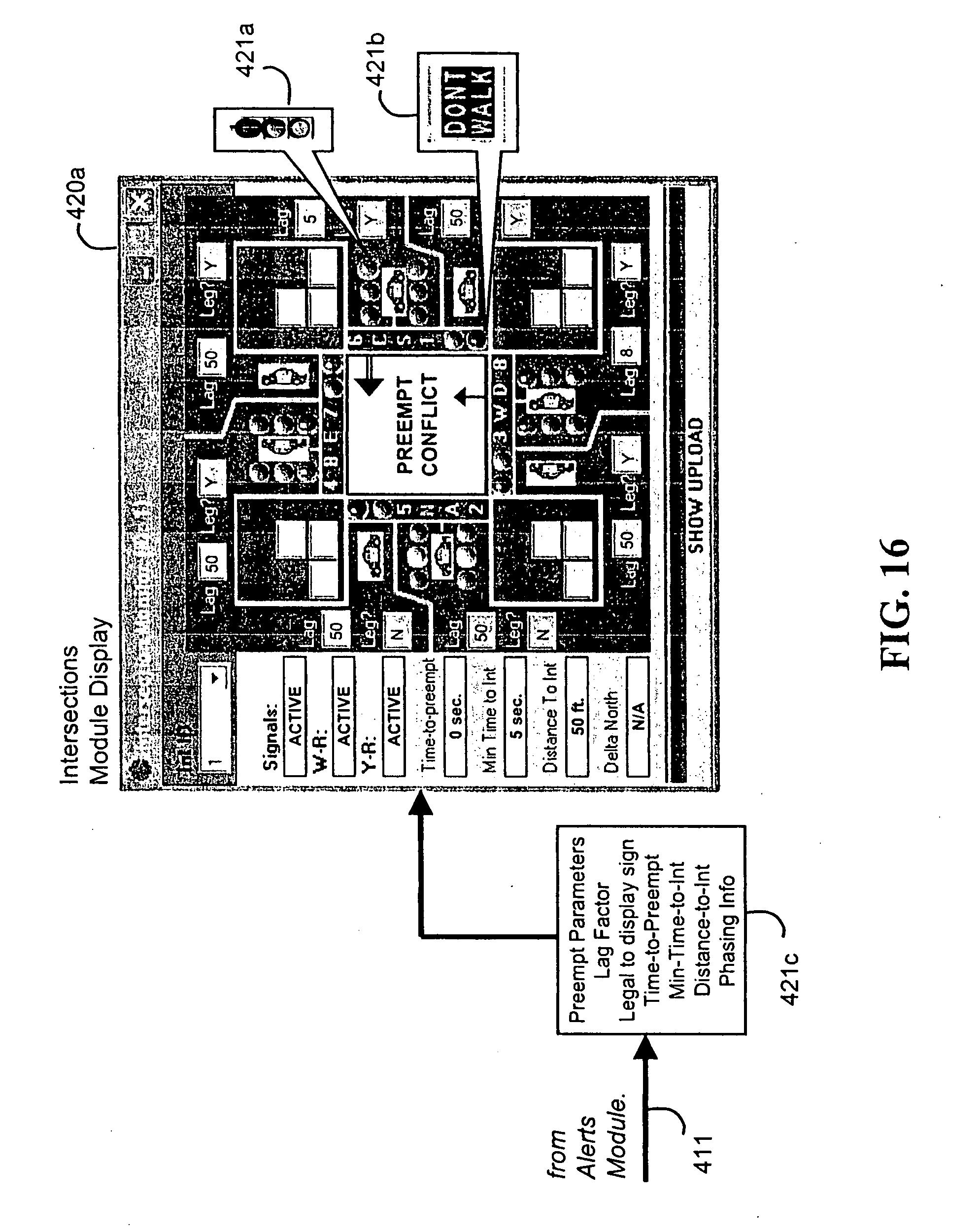 patent us20050104745 - emergency vehicle traffic signal preemption system
