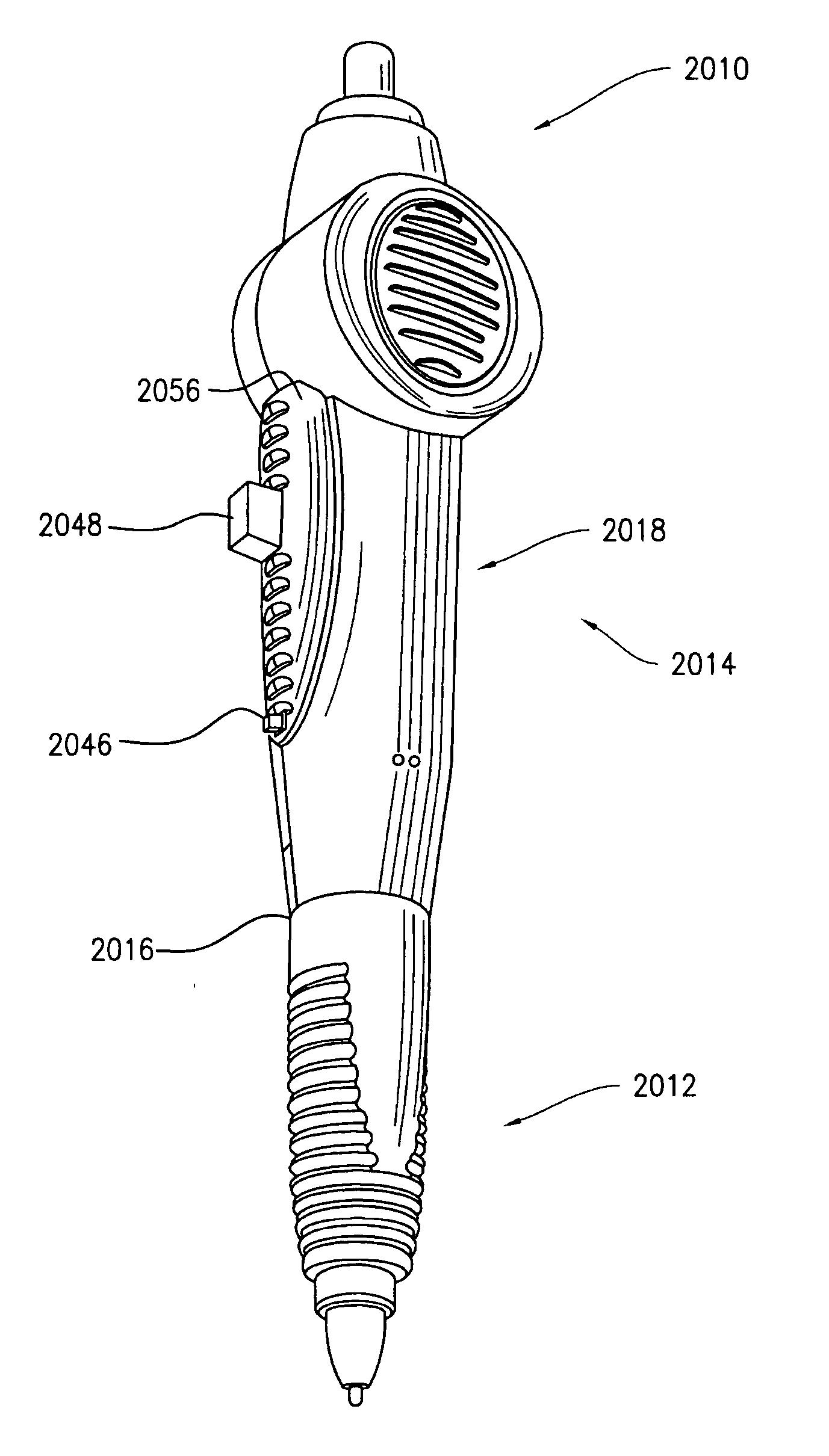 patent us20050130594 - walkie-talkie pen