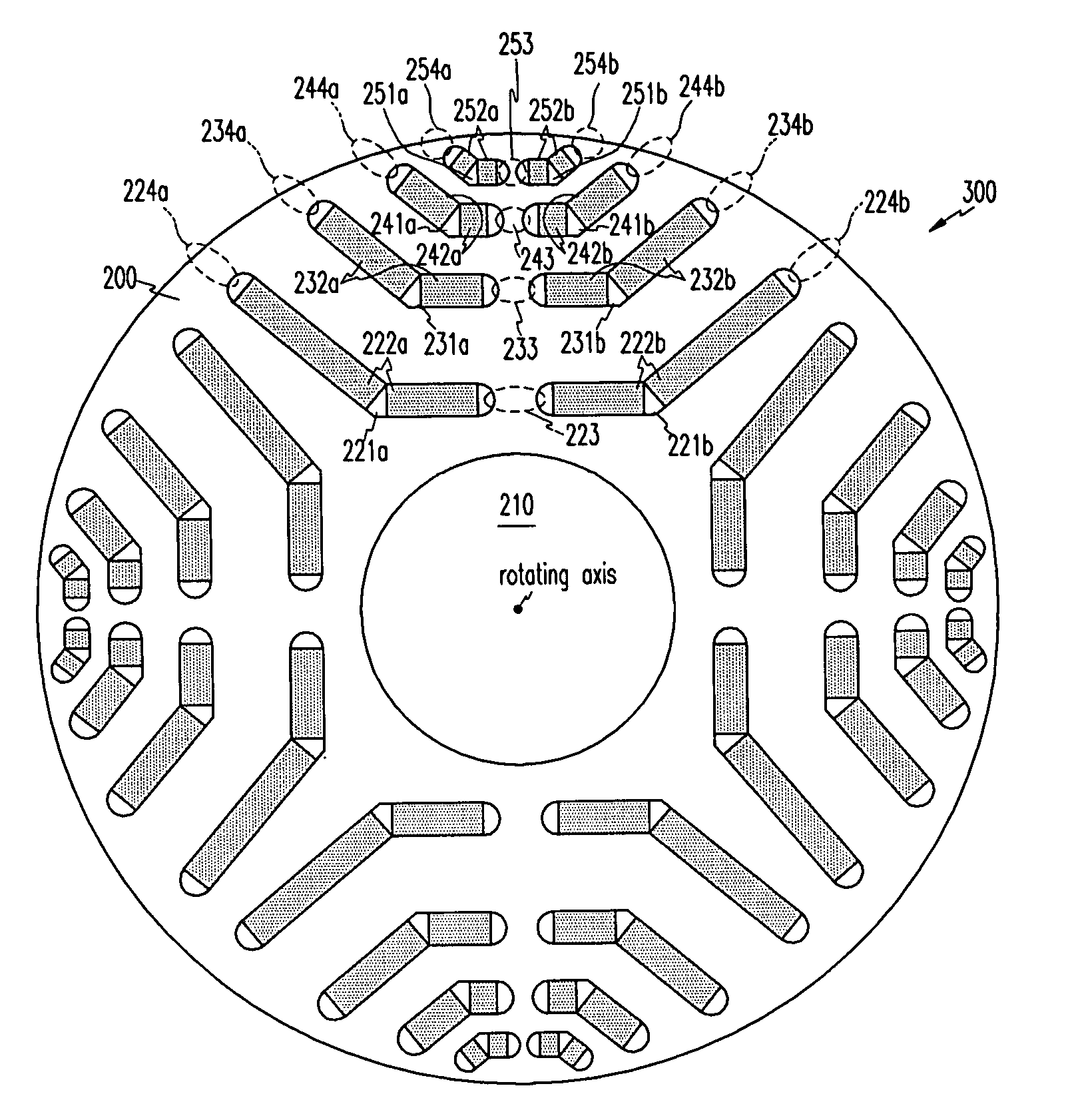 Patent Us20050140236 Rotor Structure Of Multi Layer Interior Permanent Magnet Motor Google