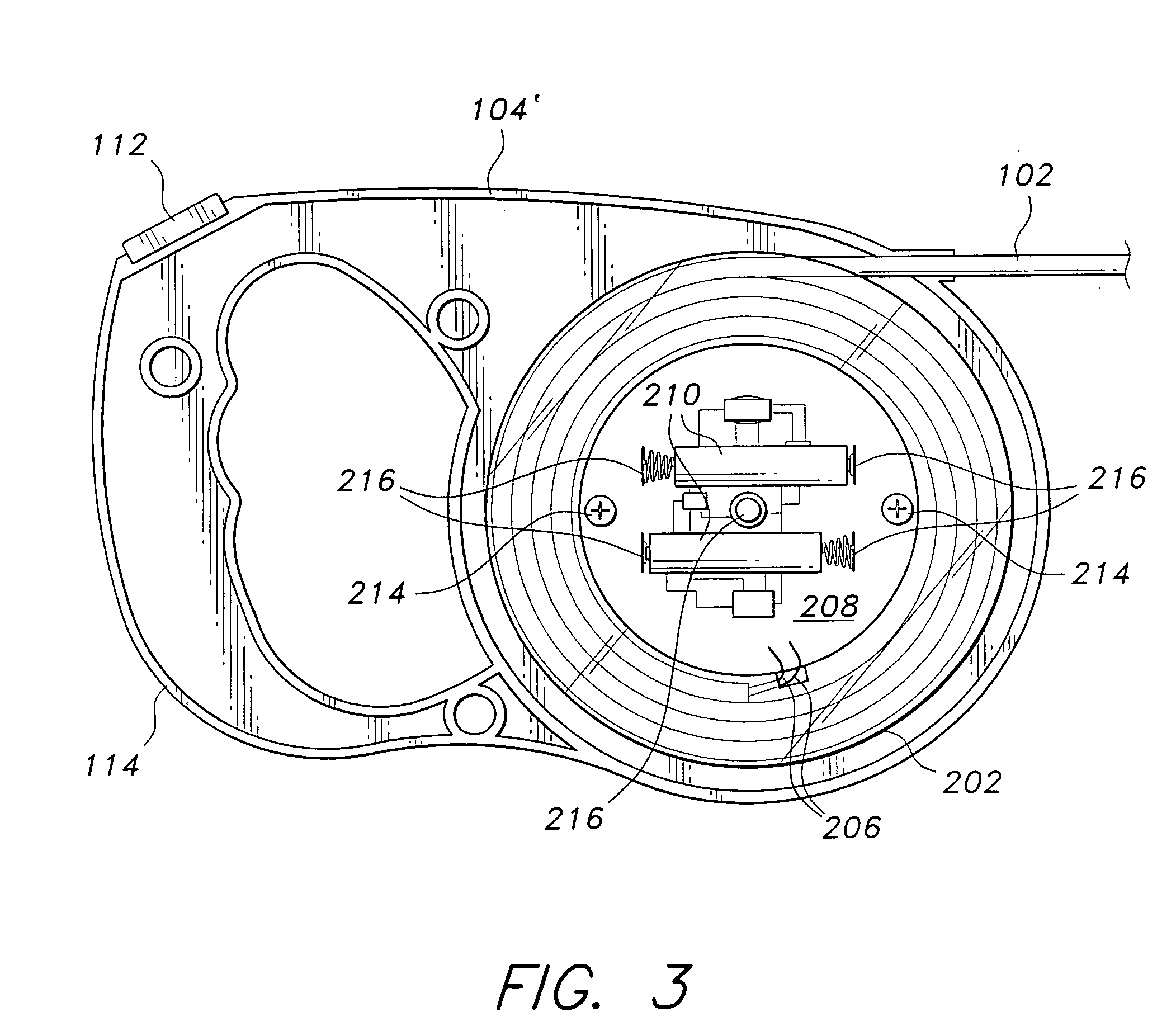 patent us20050172914 - illuminated retractable leash