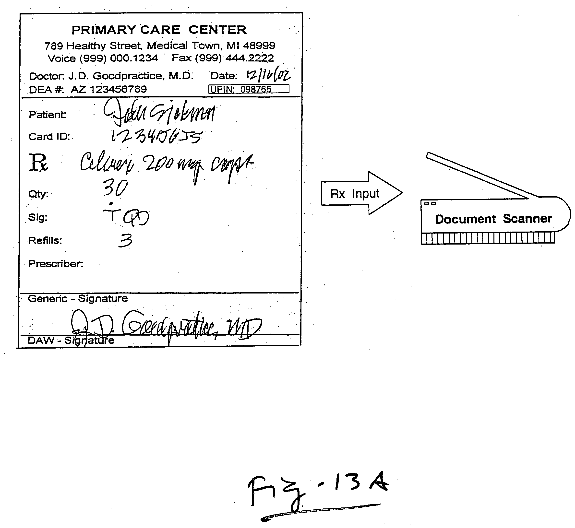 Patent US20050182656 - On-line prescription service system and ...
