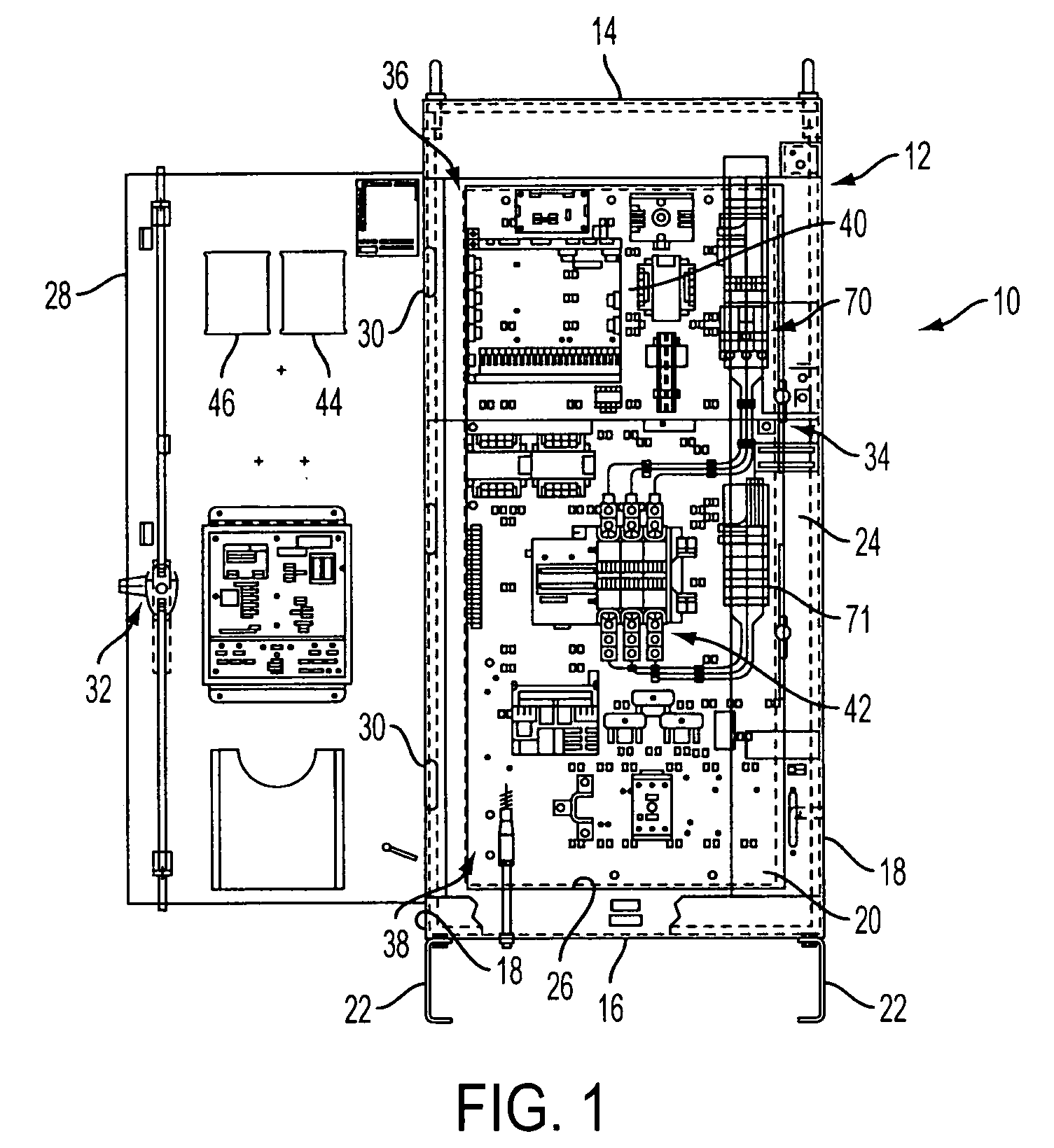patent us20050183868 - integrated fire pump controller and automatic transfer switch