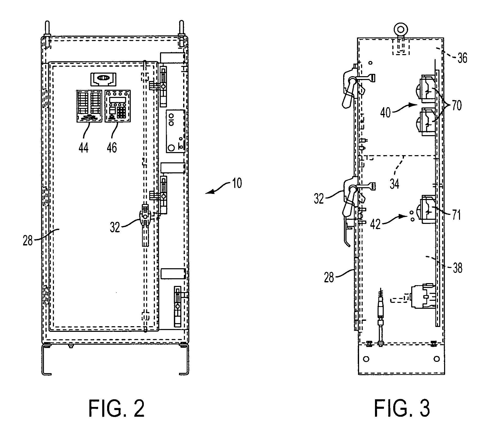 براءة الاختراع us20050183868 integrated fire pump controller and patent drawing