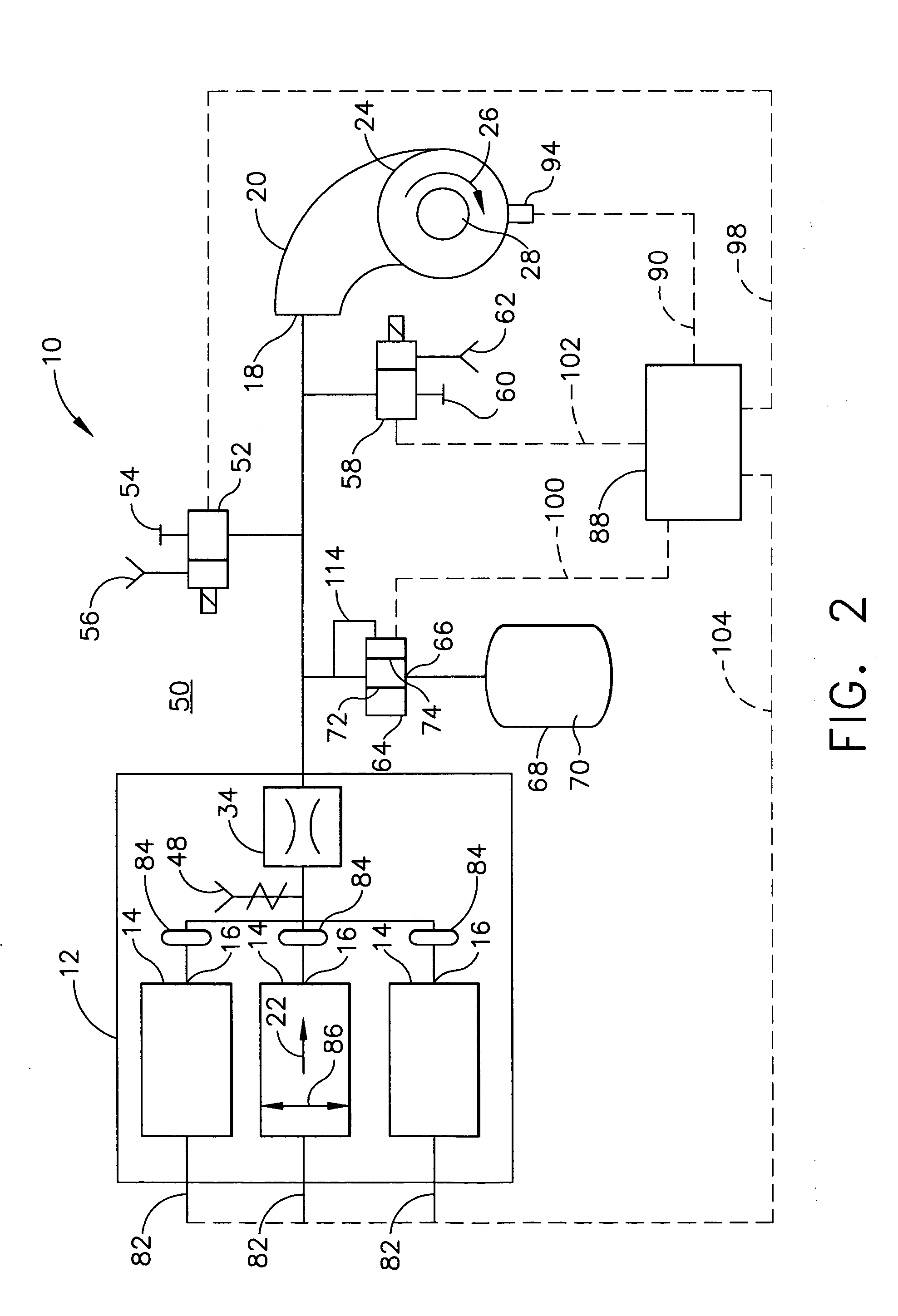 Patent US Solid propellant gas generators in power