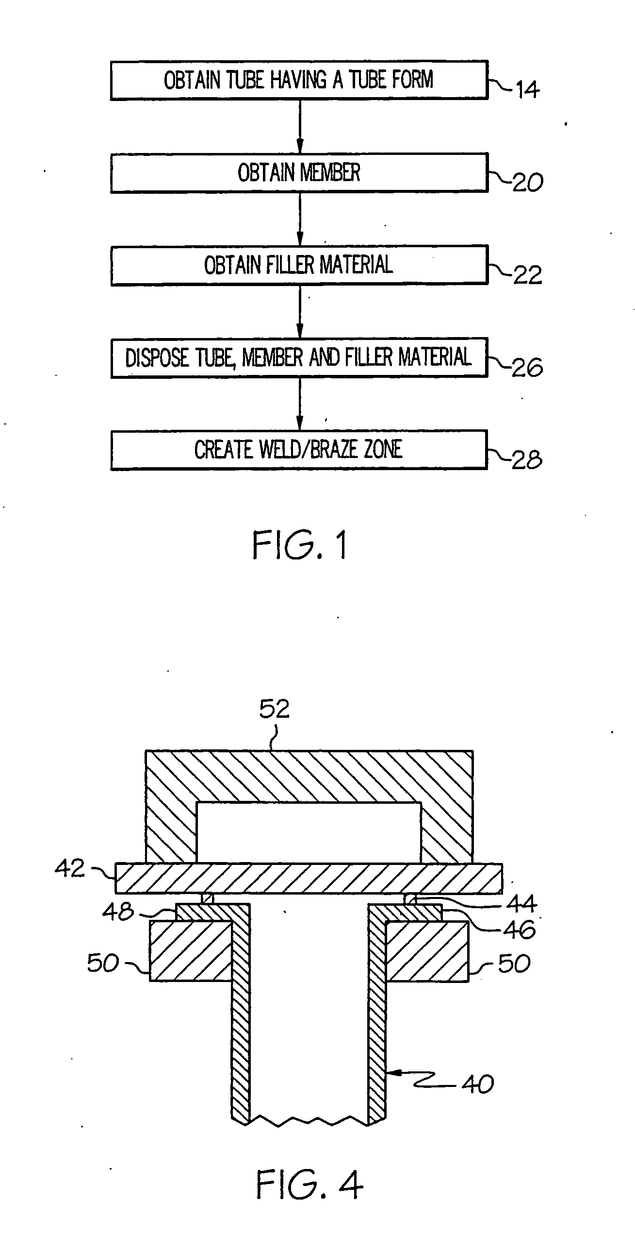 Patent Us20050194360 Method For Resistance Welding Brazing A Tube Block Diagram Drawing