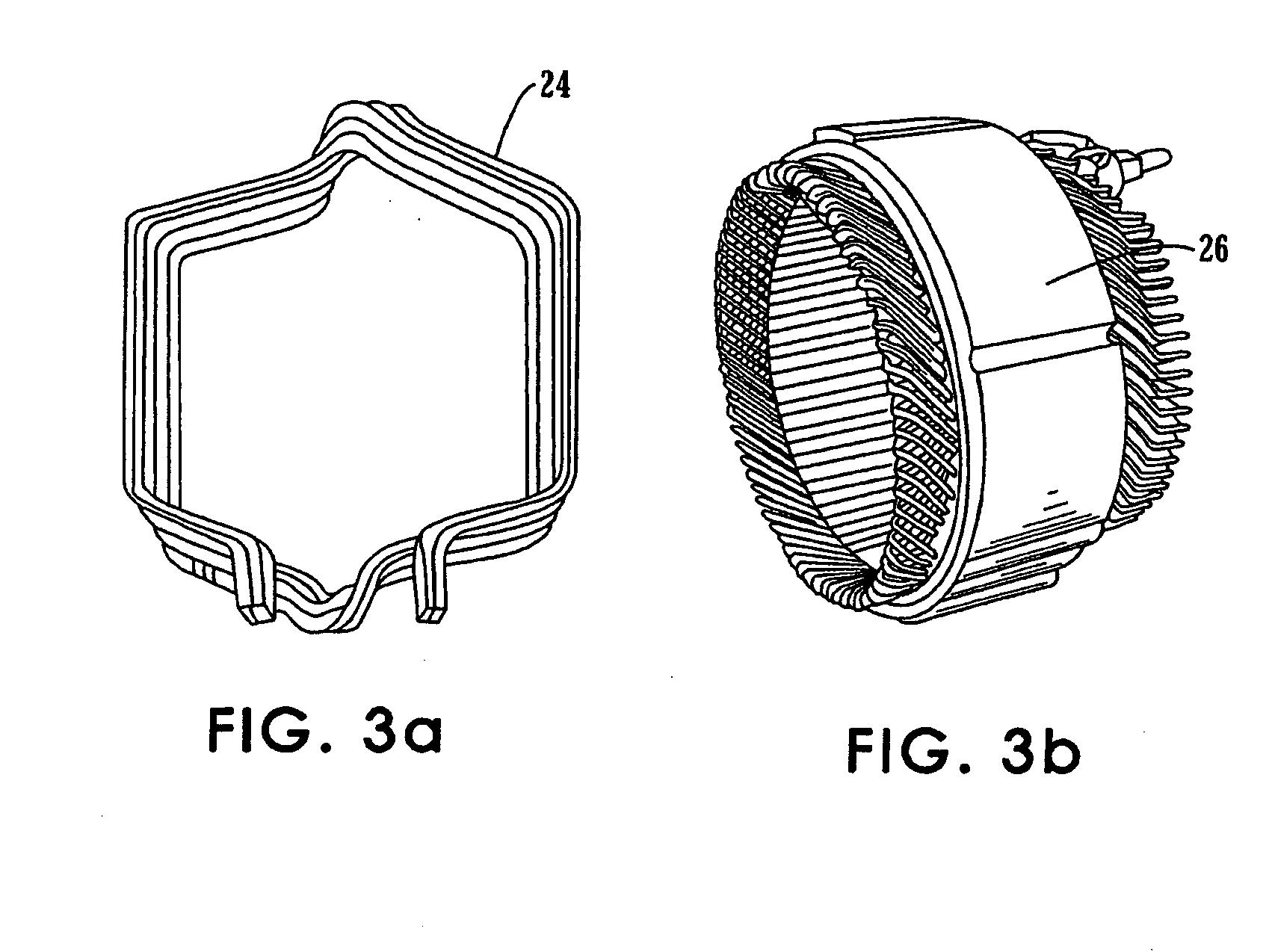 Patent Us20050206263 Multi Set Rectangular Copper