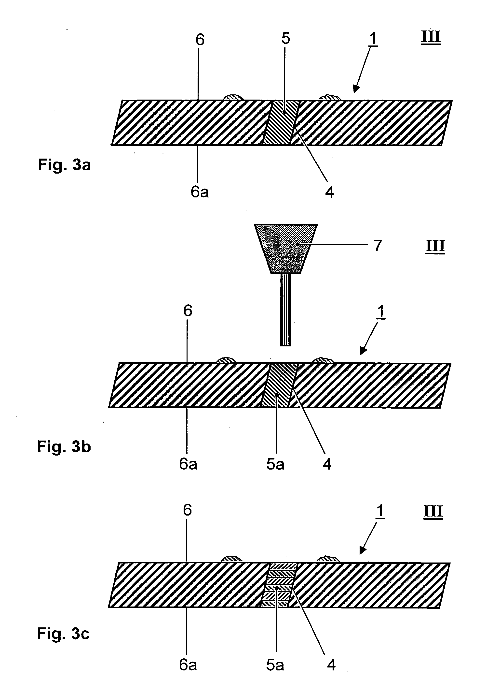 Patent US Process of masking cooling holes of a gas
