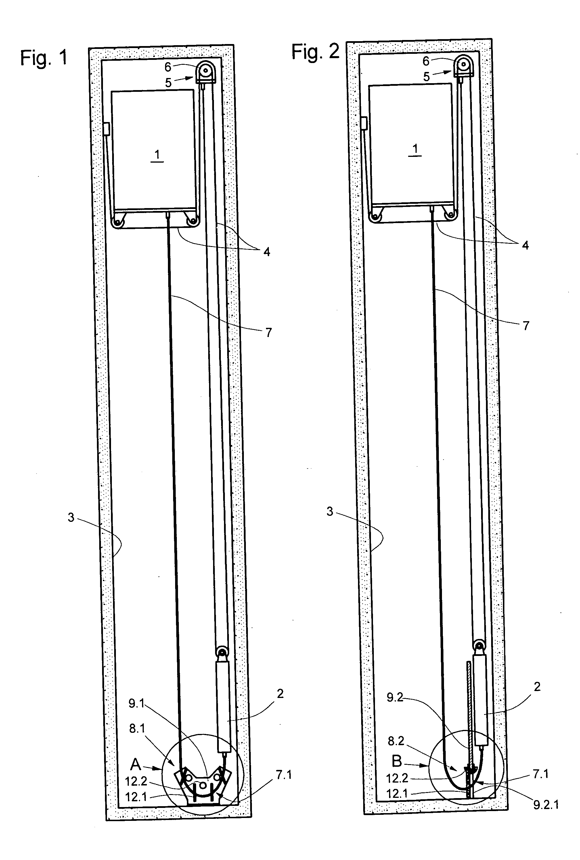 Elevator Installation Manual : Patent us  elevator installation with