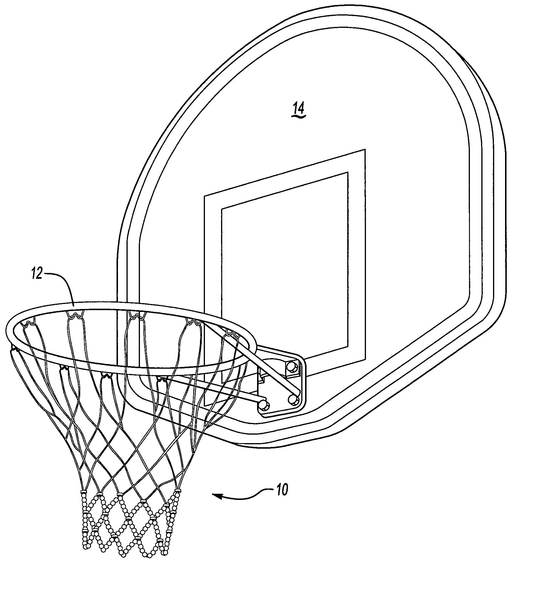 Basketball net sketch