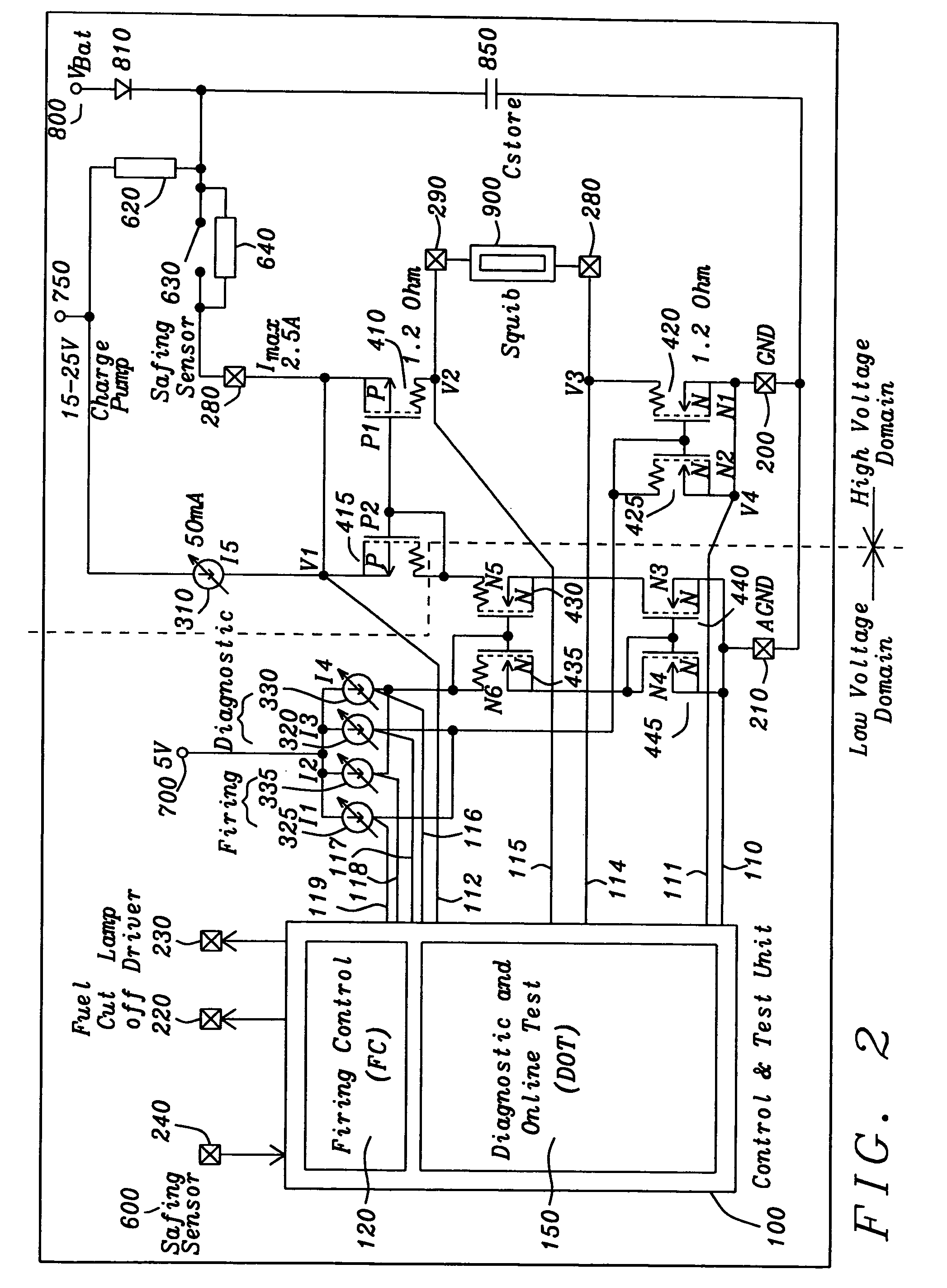 US20050225924A1 20051013 D00003 patent us20050225924 squib driver for airbag application avs air ride controller wiring diagram at bakdesigns.co