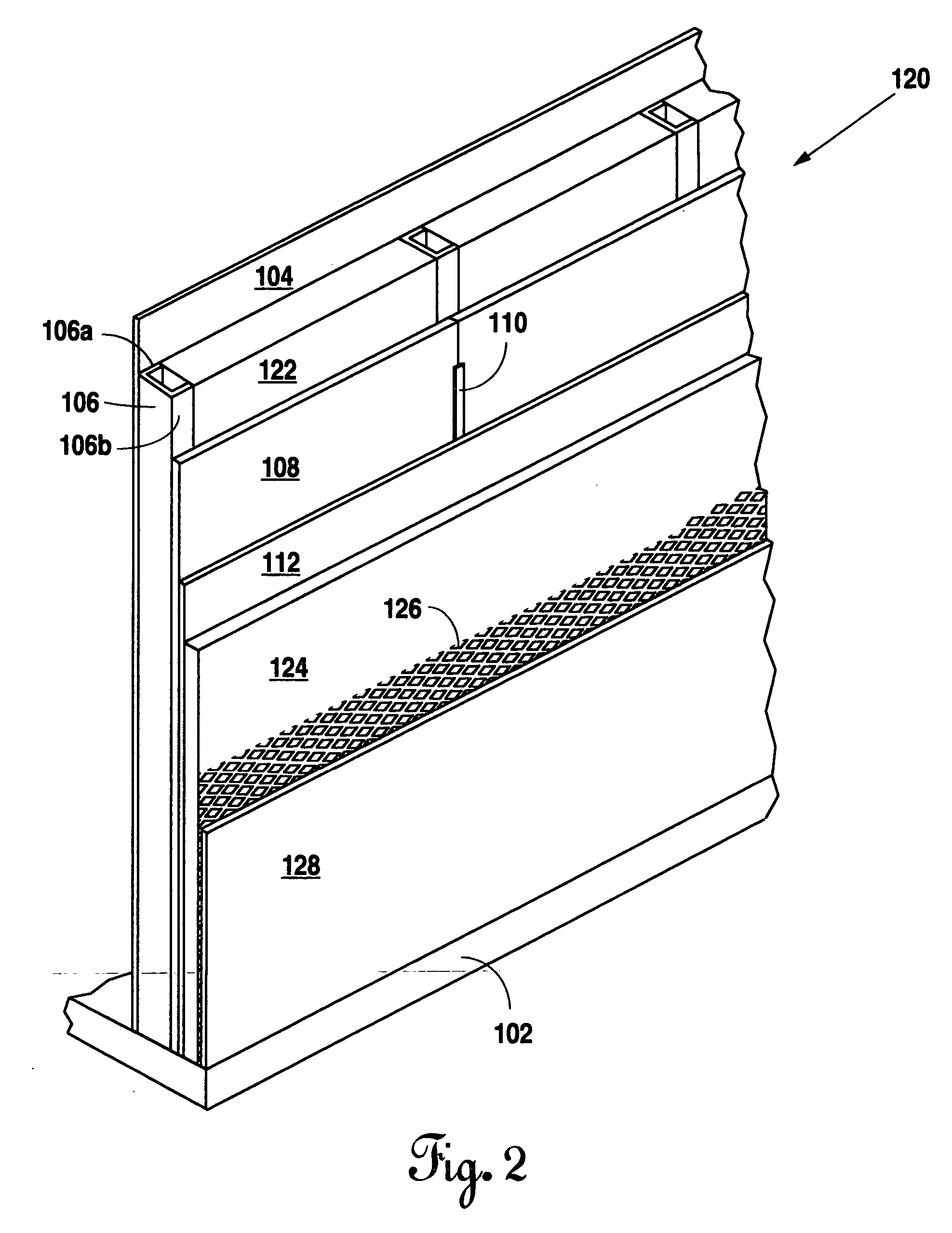 Patent us20050247021 mold resistant exterior wall for Mold resistant insulation