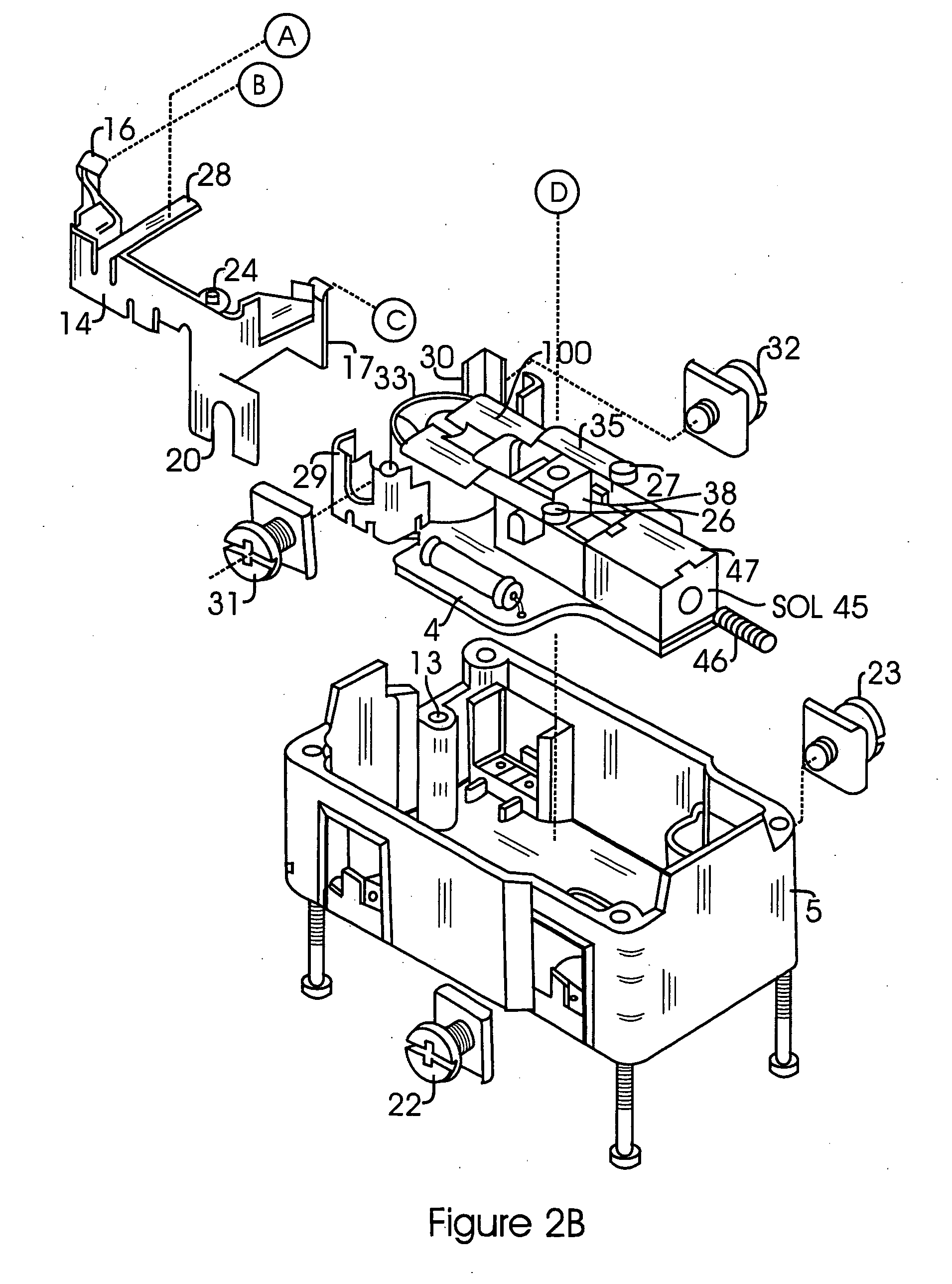 Patent Us20050264383 Ground Fault Circuit Interrupter With Reverse Pin Diagram Photo Module Drawing