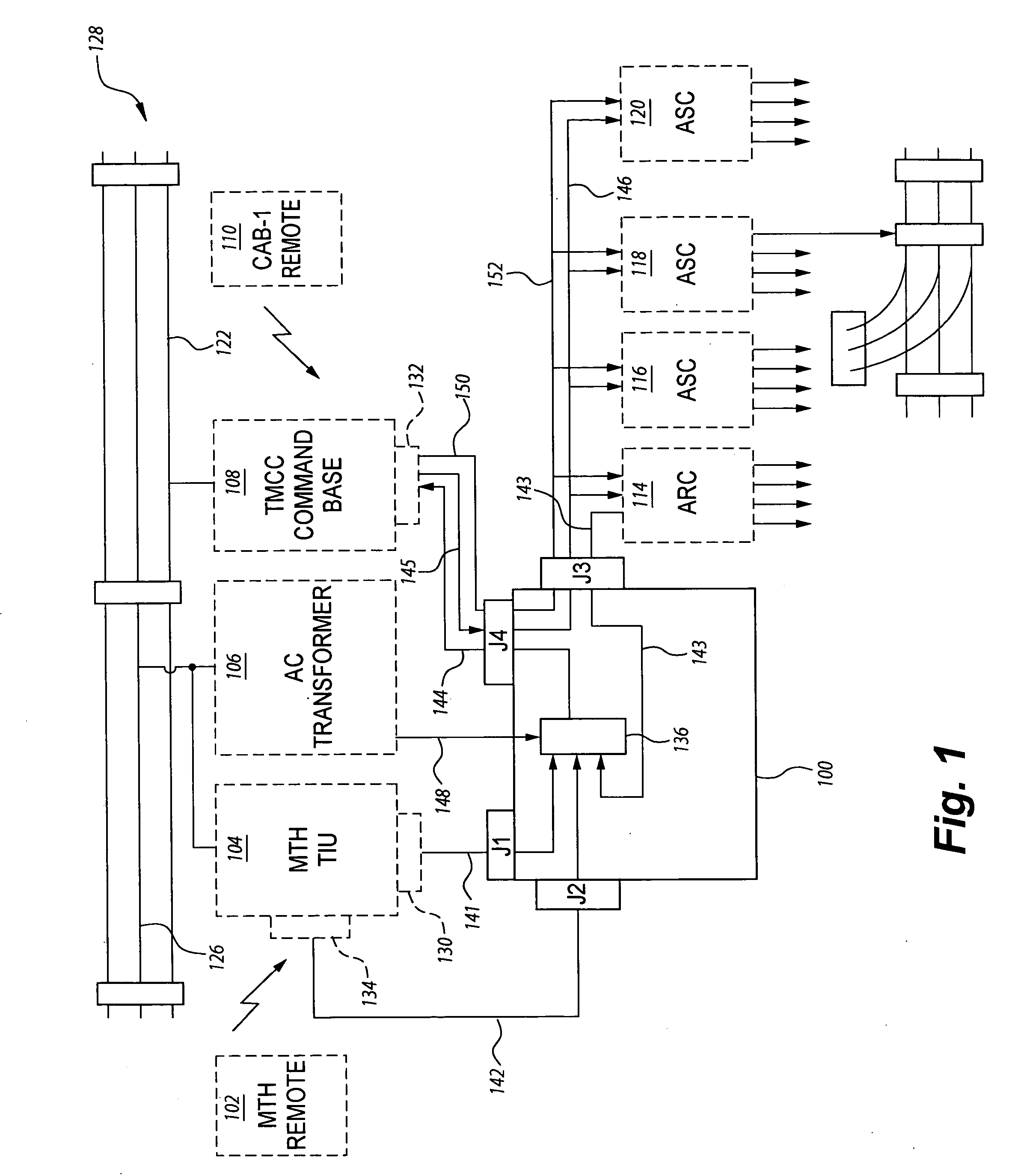 patent us model train controller interface device patent drawing