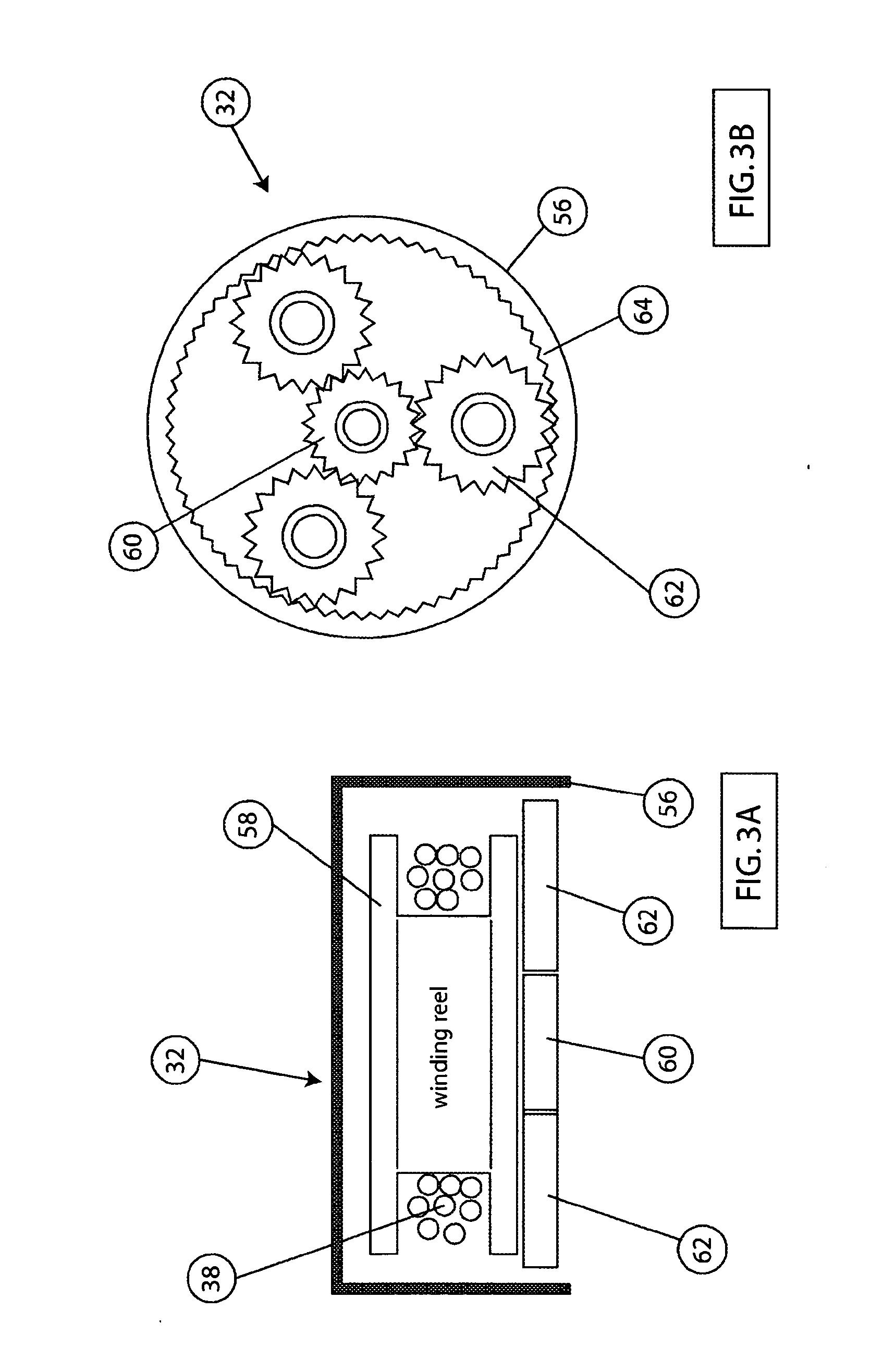 patent us20050279797 - harness tightening system