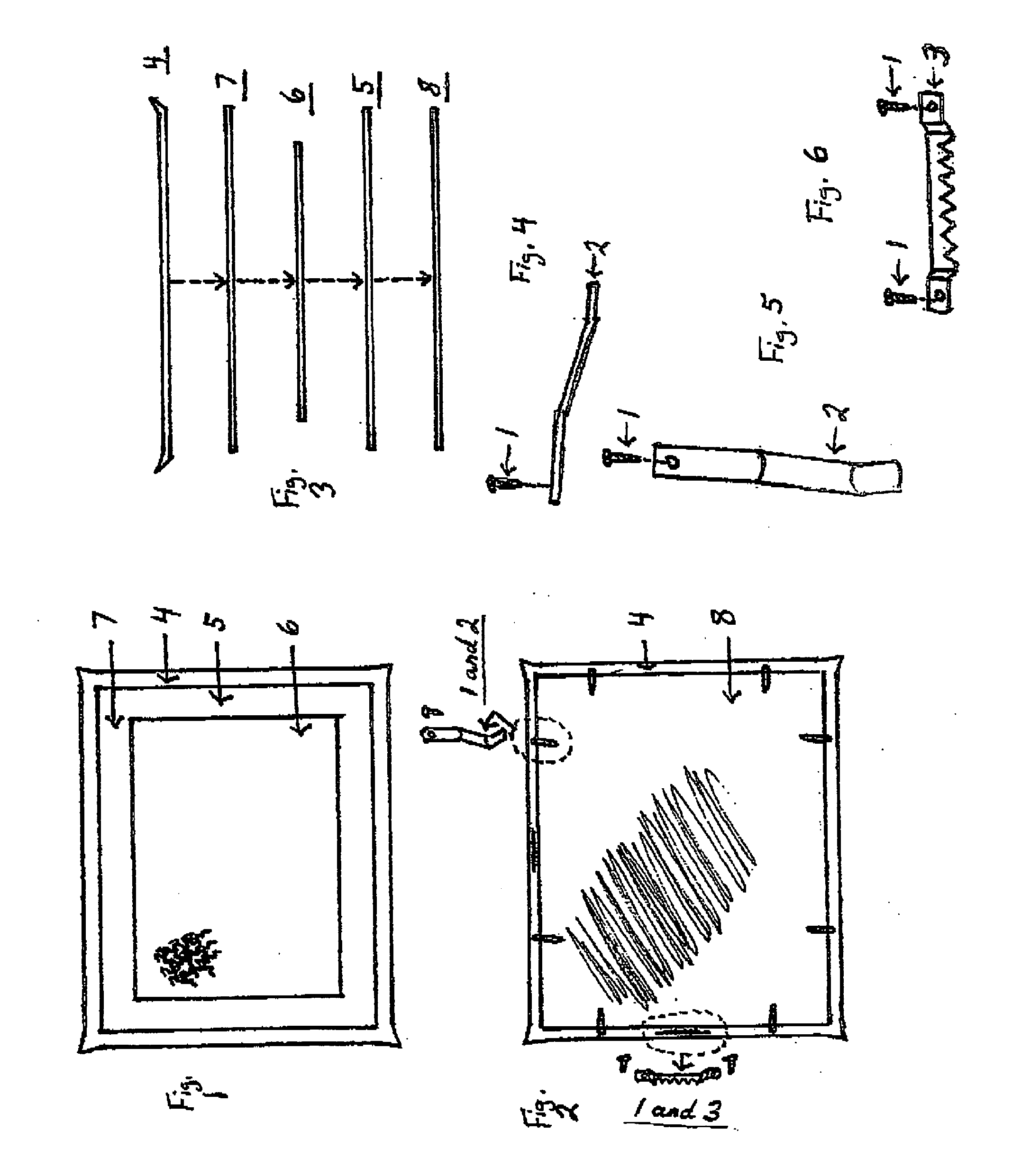 Patent Us20050282139 No Glue Puzzle Frame Google Patents