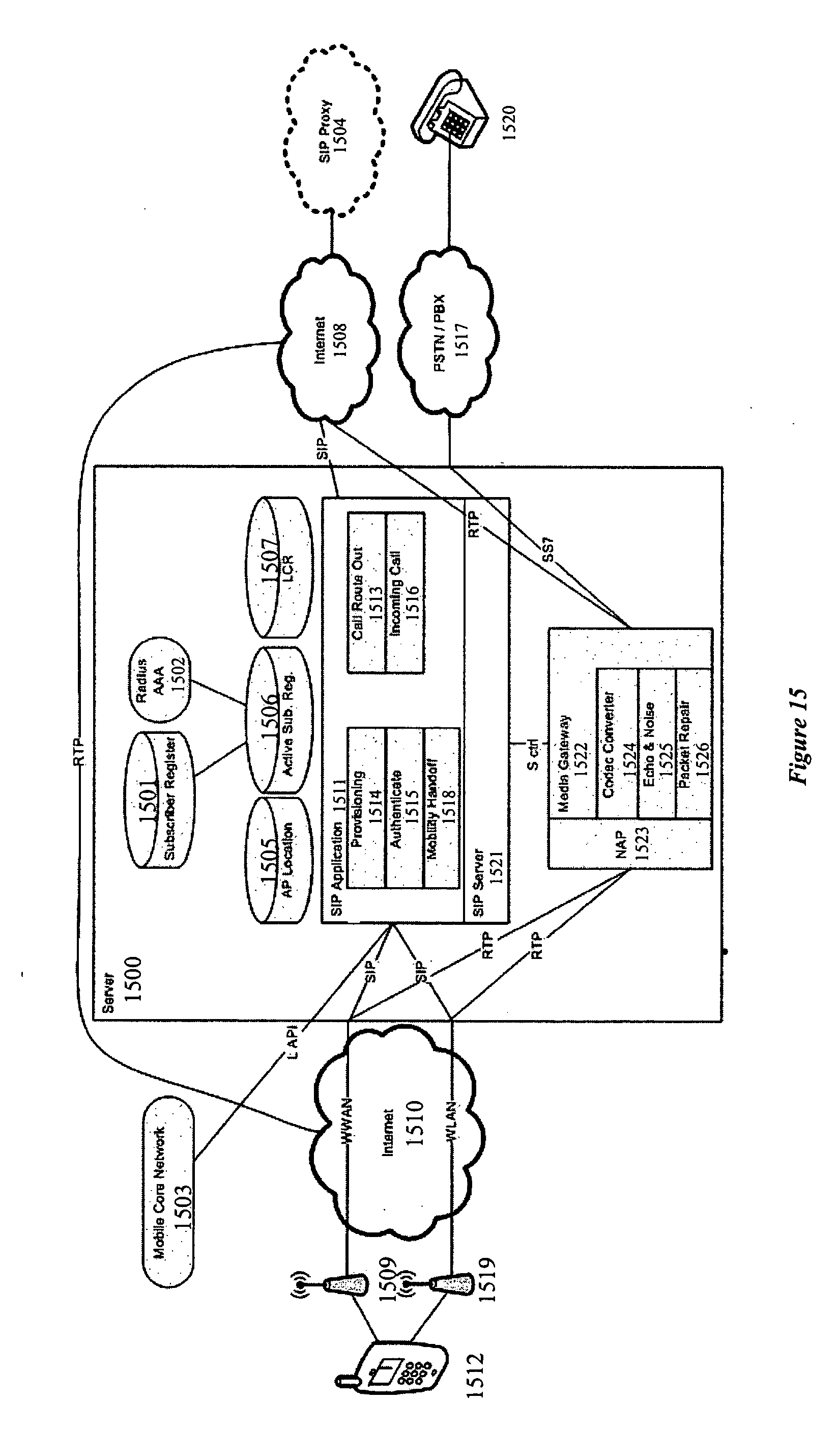 Patent Us20050286466 System For Providing Mobile Voip Google Patents Broadcastband Rf Amplifier Circuit Diagram Tradeoficcom Drawing