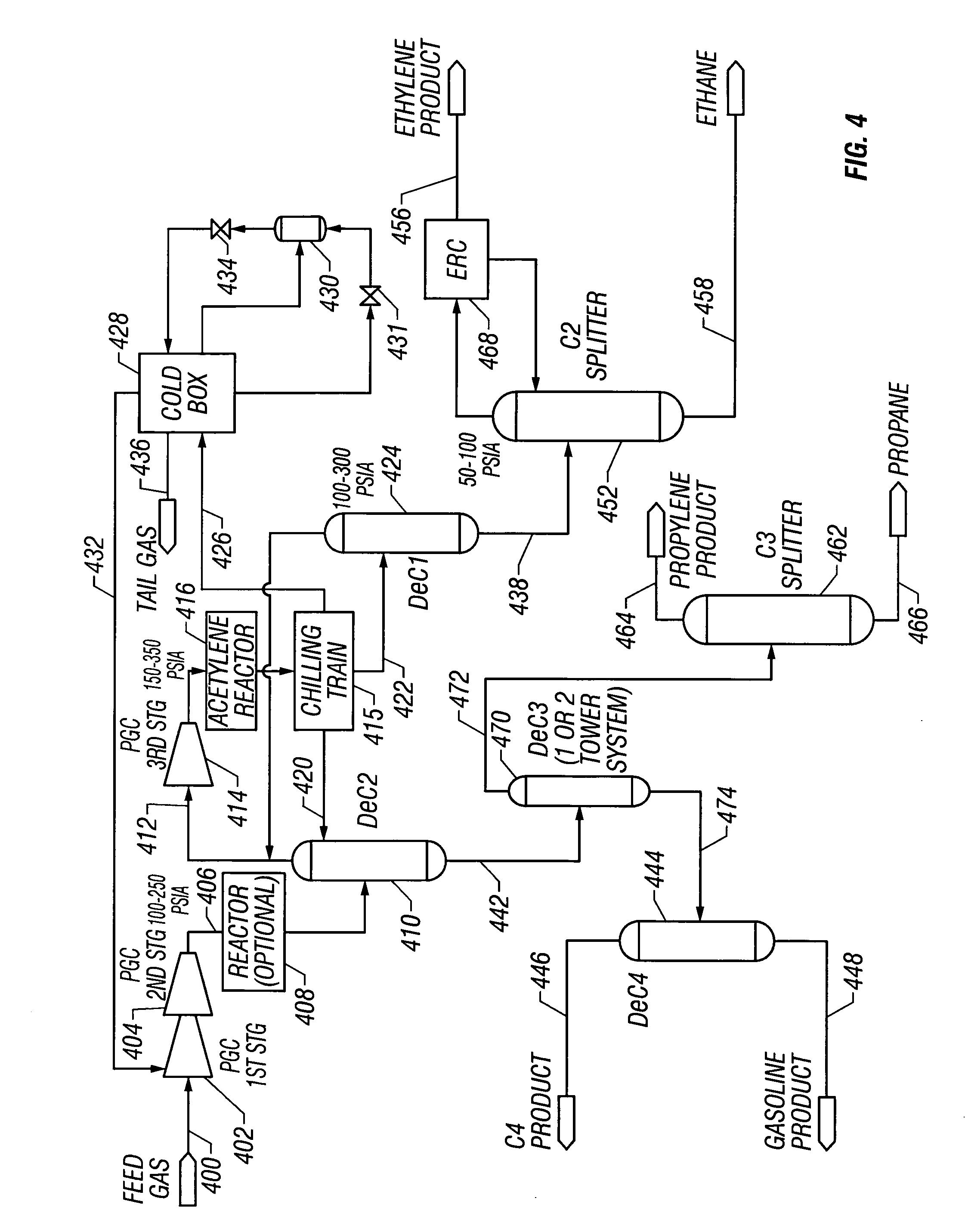 diagram of propane refrigeration process