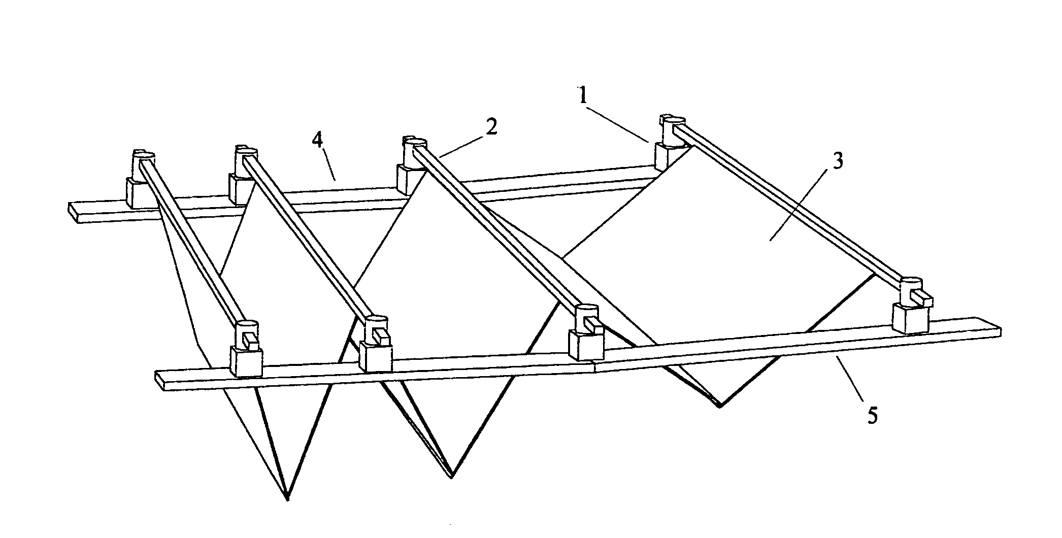 Patent Us20060005473 Adaptable Retractable Fabric Roof
