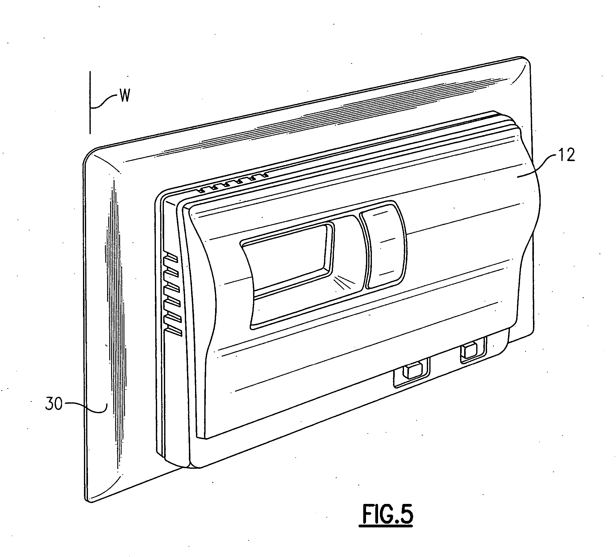 patent us20060006244 - intrusion barrier and thermal insulator for thermostat
