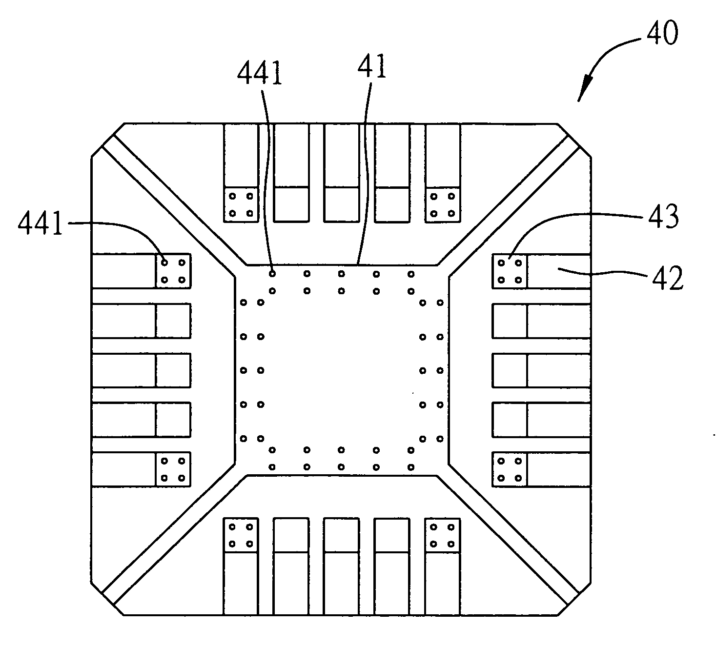 Patent US20060006505 - Lead frame for improving molding reliability ...
