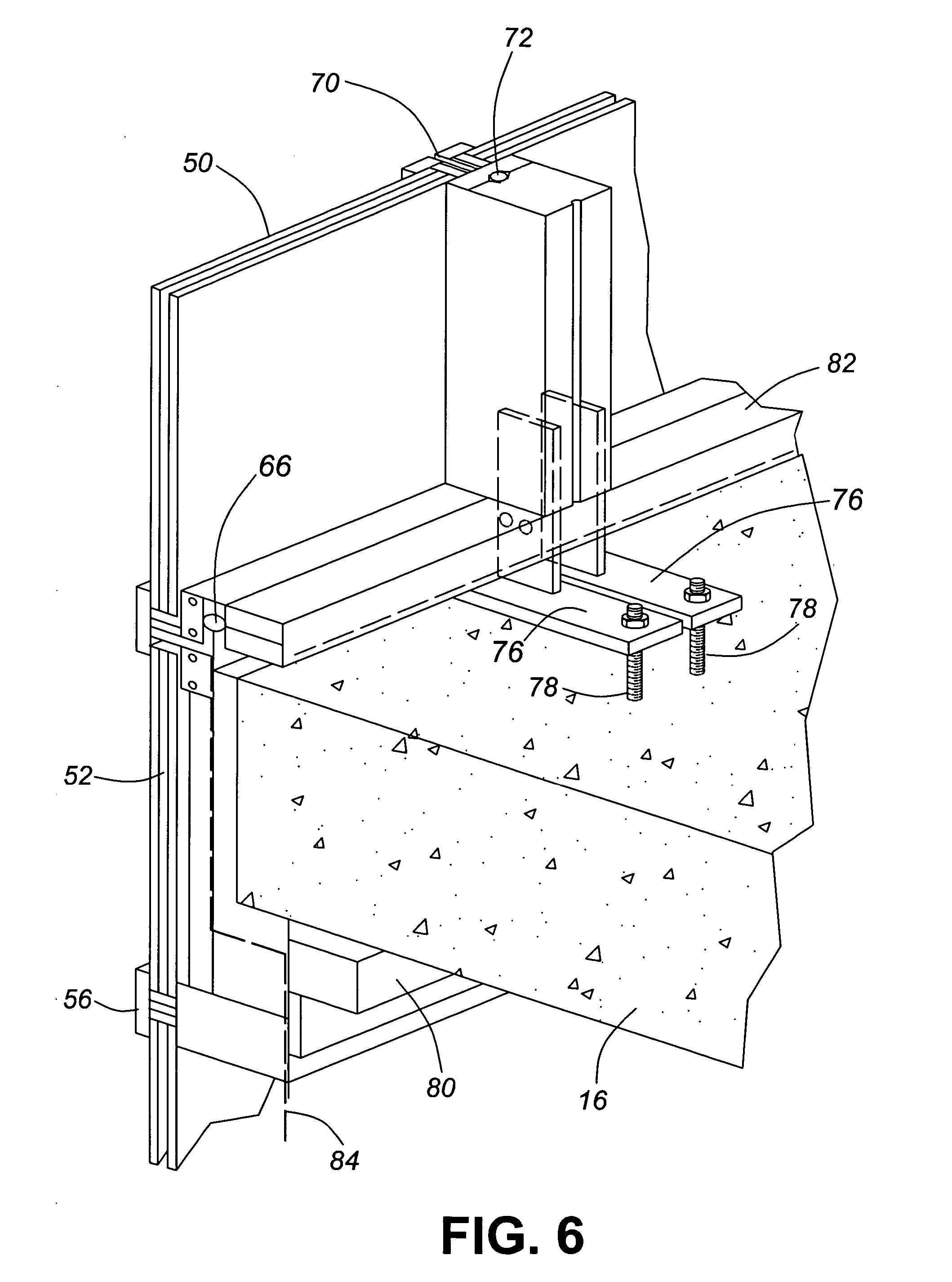 patent us20060016133  curtain wall
