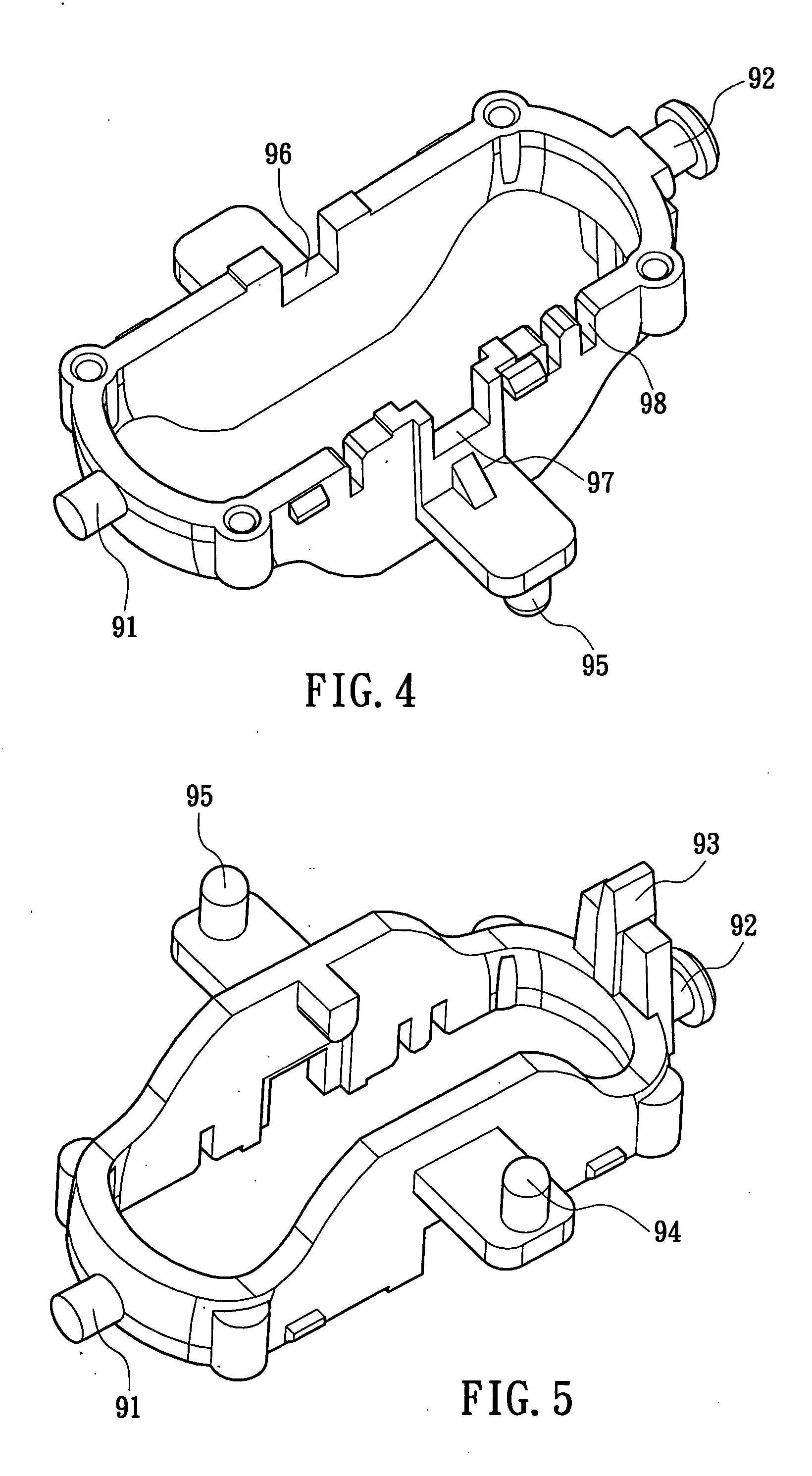 patent us20060022944 - mouse scroll wheel module