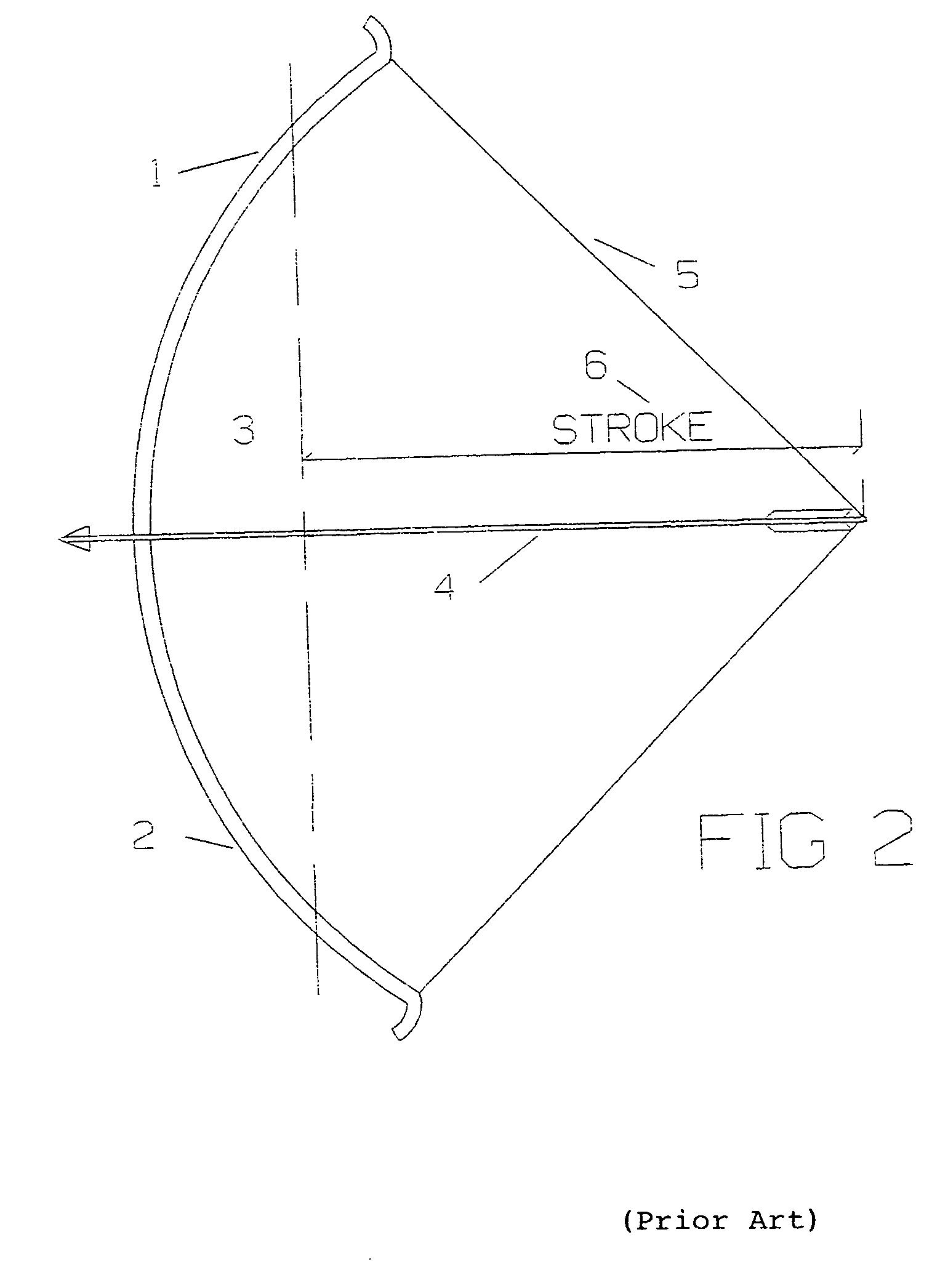 patent us20060054150 - reverse draw technology archery