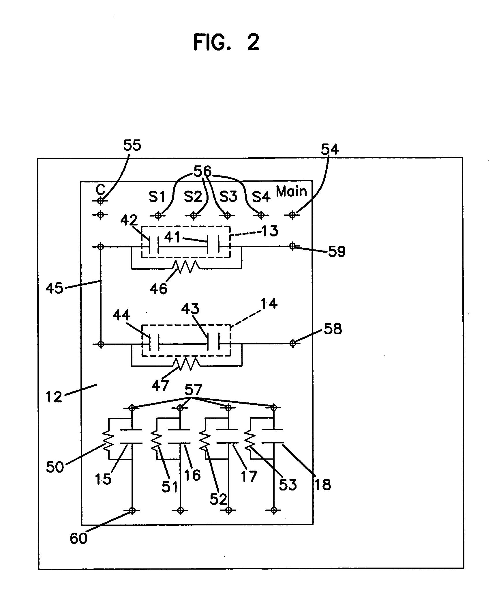 patent us20060056133 sign ballast capacitor assembly patents 2 Lamp Ballast Wiring patent drawing