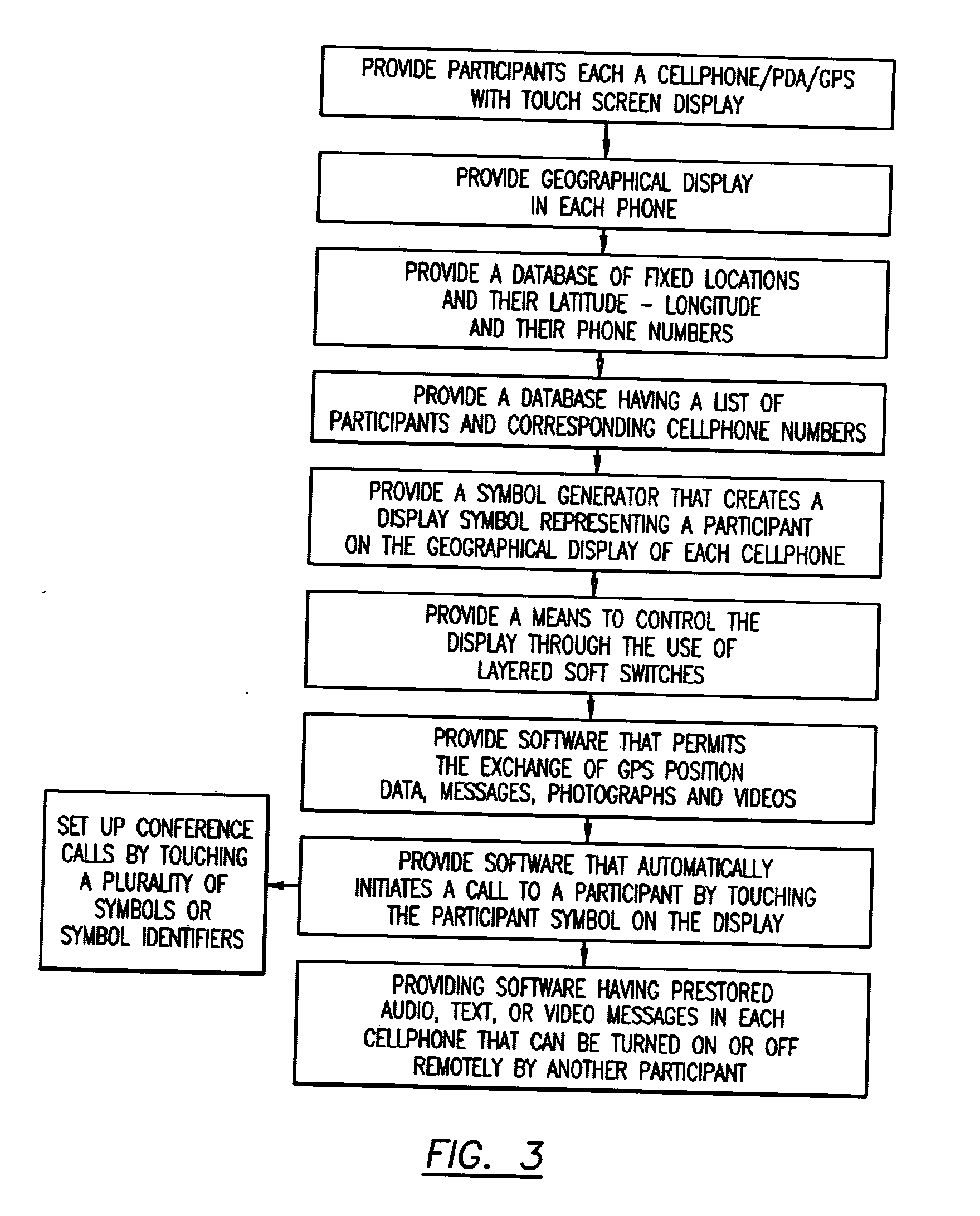 Patent Us20060063539 Cellular Phonepda Communication System