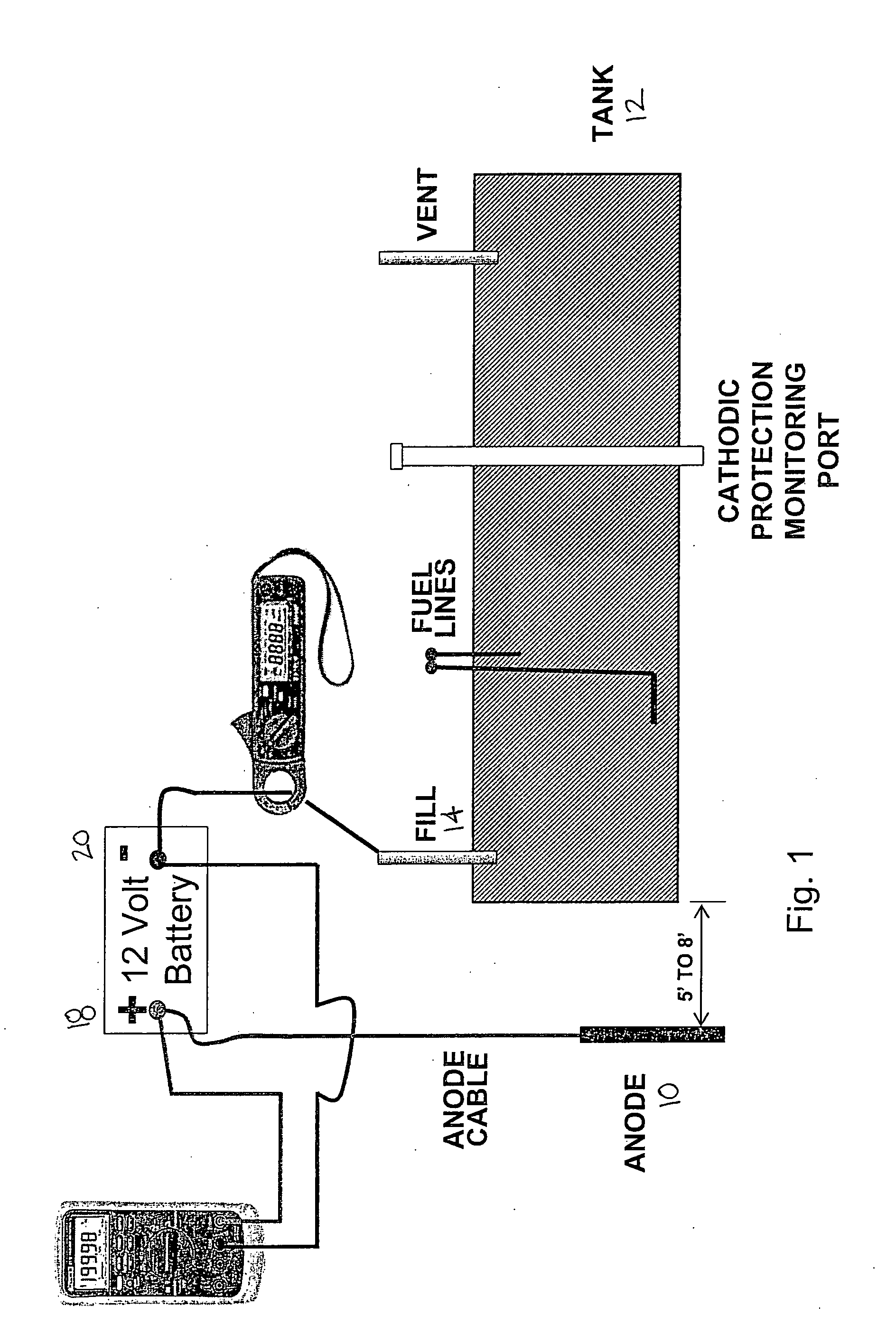 US20060070871A1 20060406 D00001 patent us20060070871 cathodic protection system for underground cathodic protection rectifier wiring diagram at n-0.co