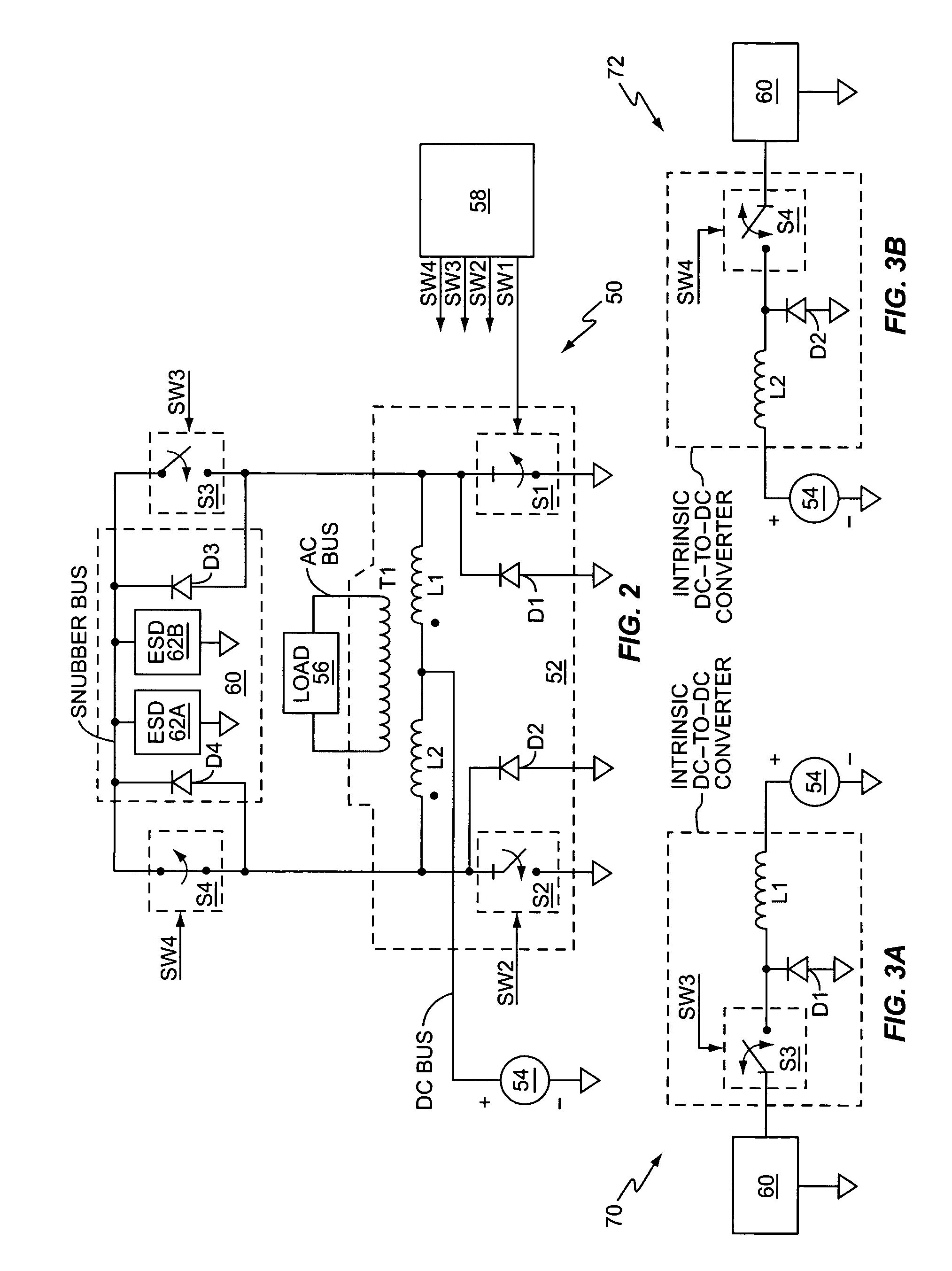 patent us20060092676 - push-pull inverter with snubber energy recovery