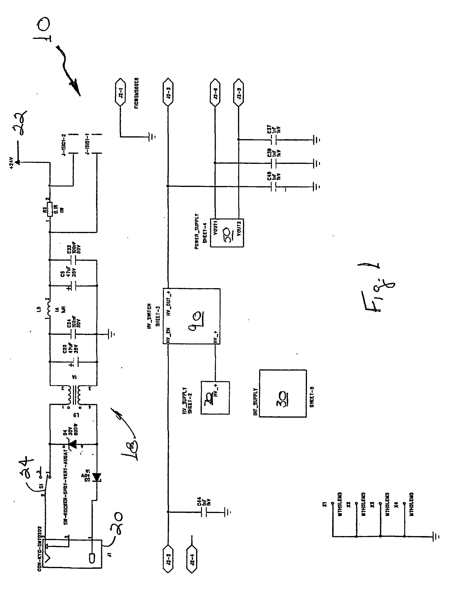 Patent Us20060097180 Switching Depolarizing Power Supply For A 5v 3a Regulator Switchingregulatorcircuit Powersupplycircuit Drawing