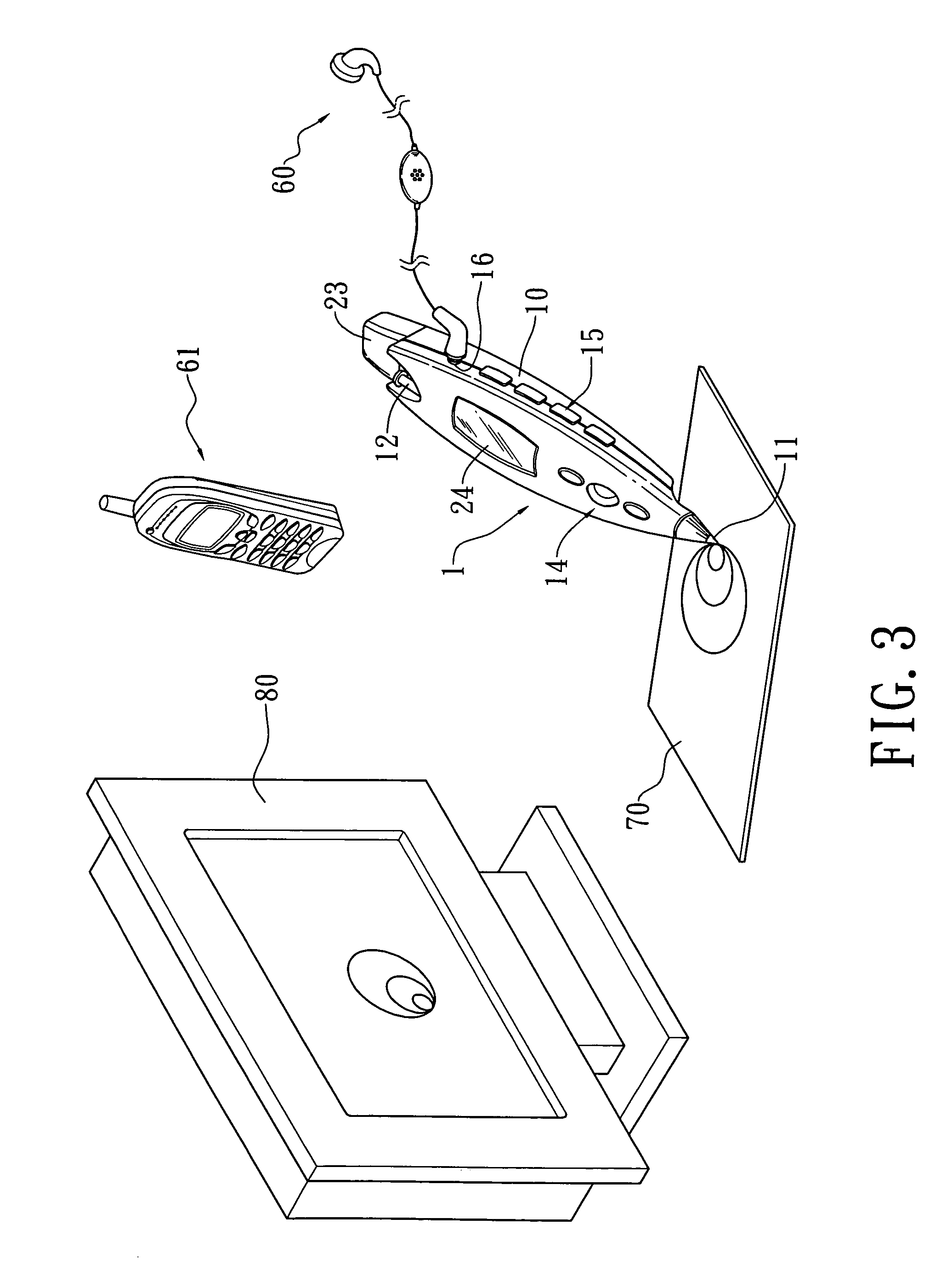 patent us20060109262 - structure of mouse pen