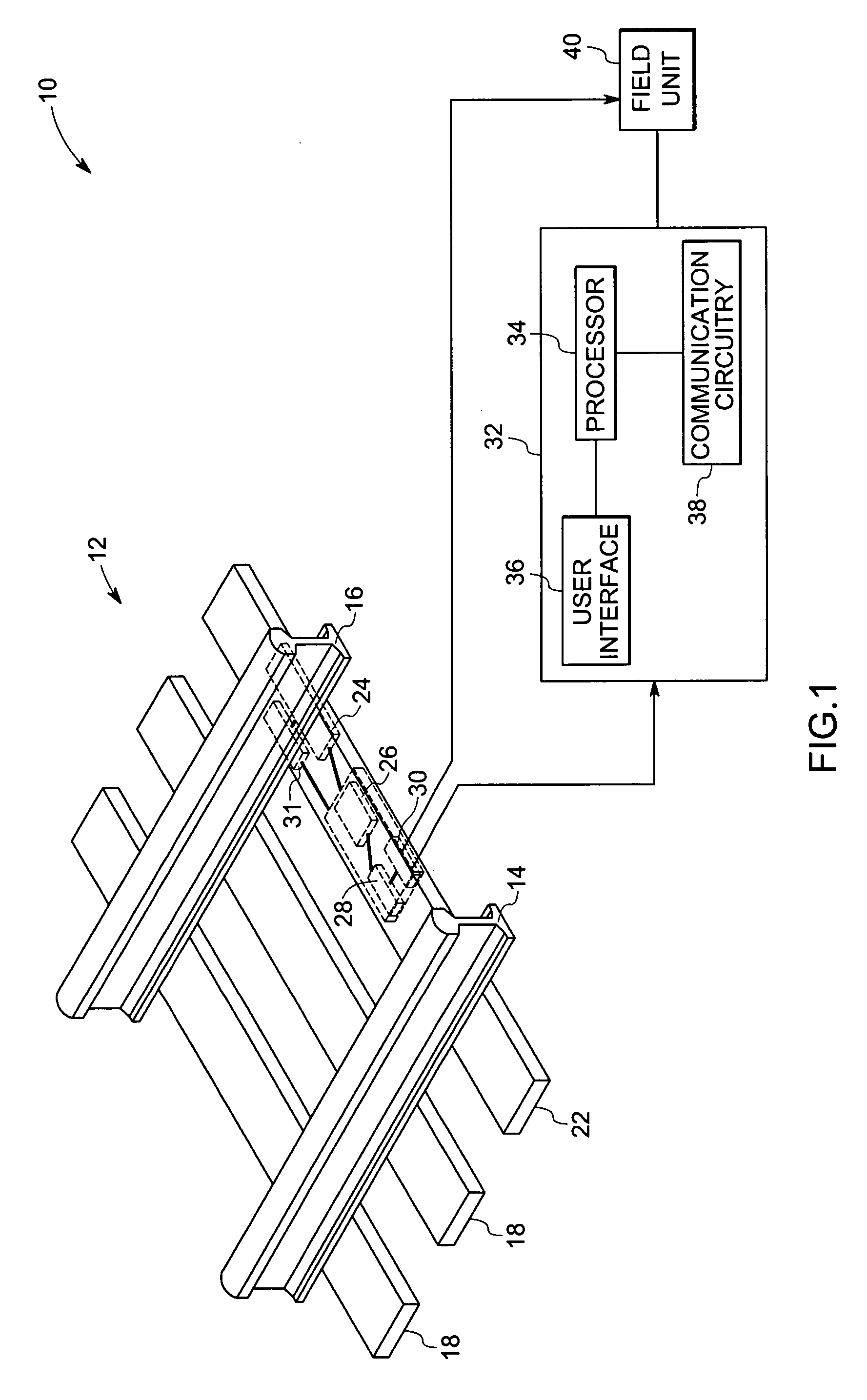 patent us20060119102 rail based electric power generation system