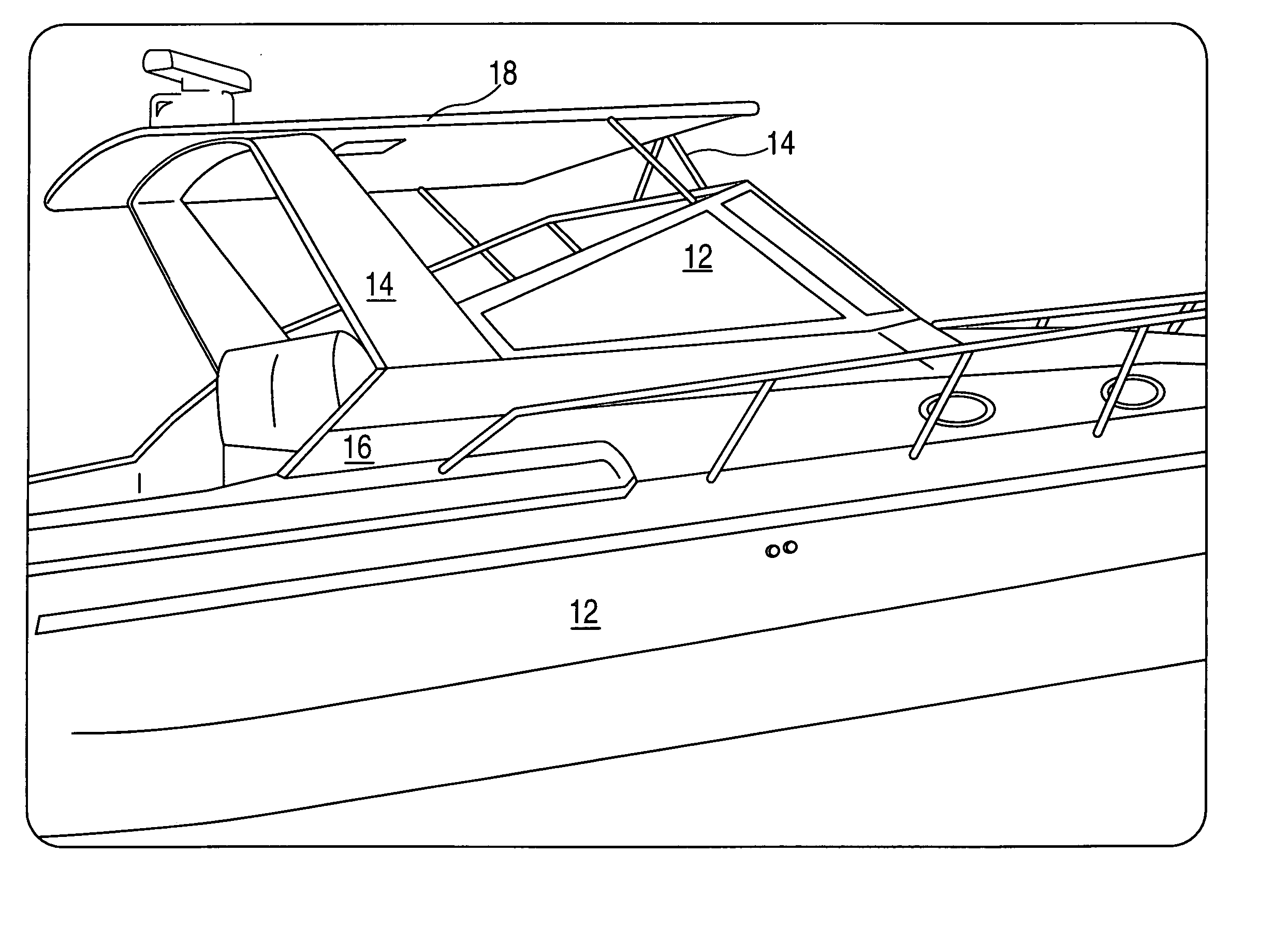 diy fiberglass boat hardtop