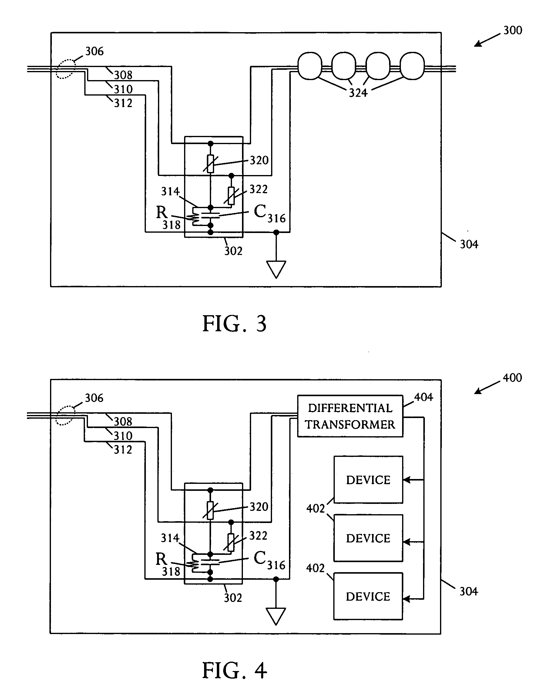 patent us20060139832 common mode surge protection filter patent drawing