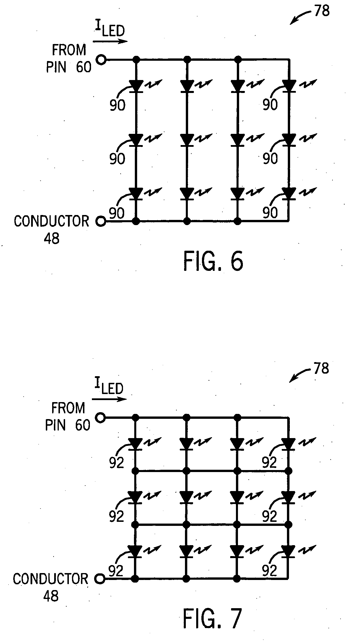 Patent Us20060145636 Reversible Polarity Led Lamp Module Using Wiring Diagram To Use This Dimmer For A Dualintensity Brake Drawing