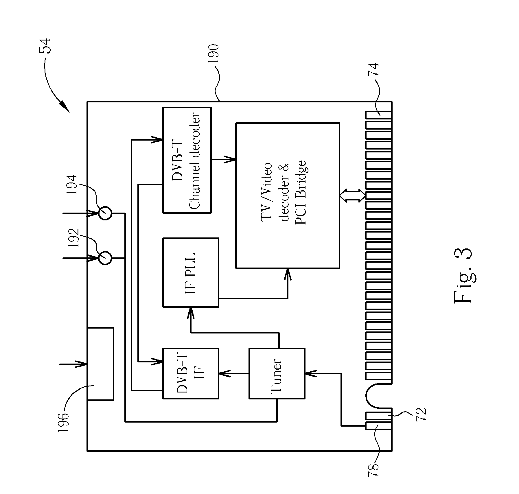 Patent Us20060149879 Mini Pci Module Having Antenna Pin Set For Dvb T Circuit Diagram Drawing