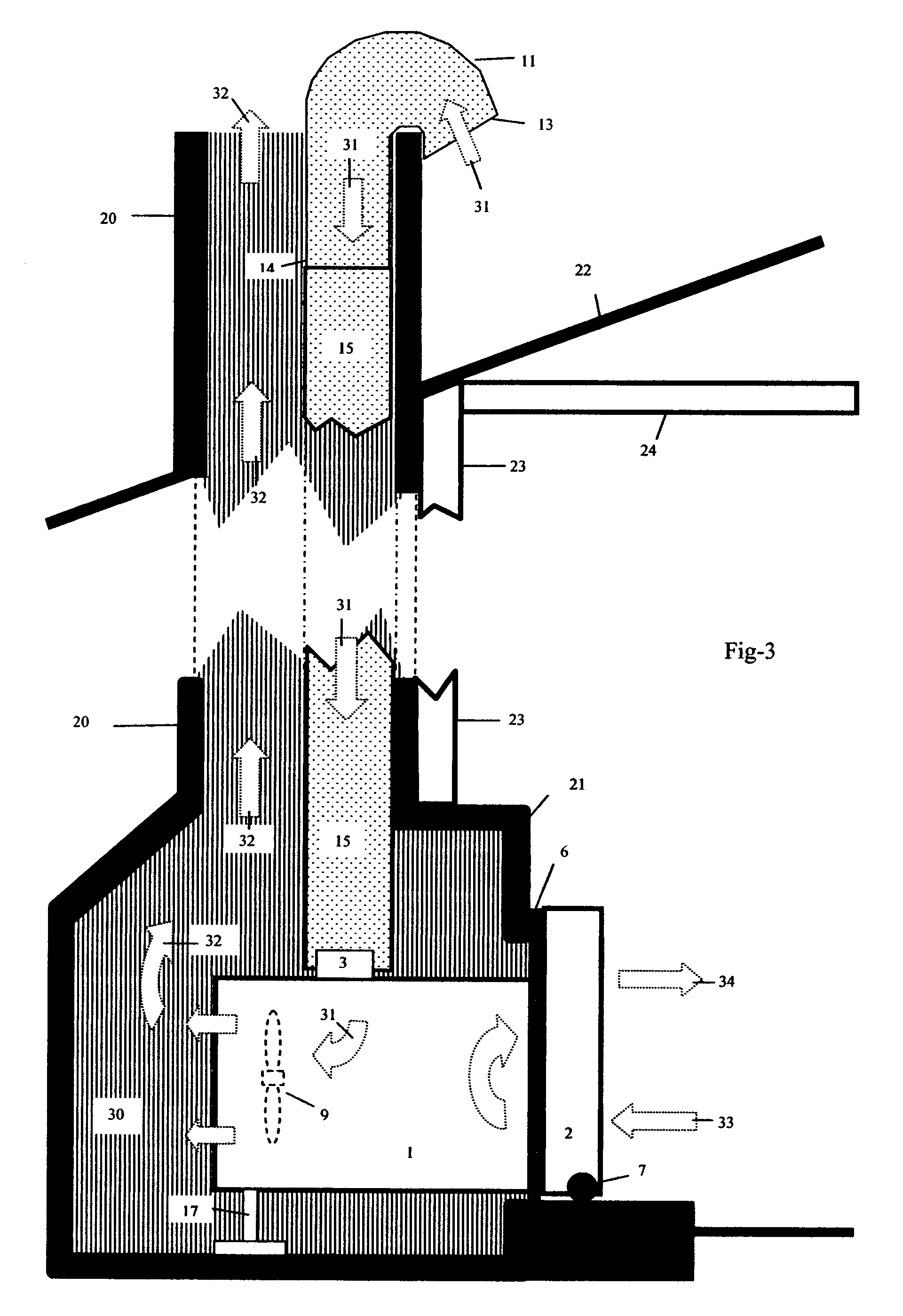 Patent Us20060162362 In Fireplace Room Air Conditioner Google Patents