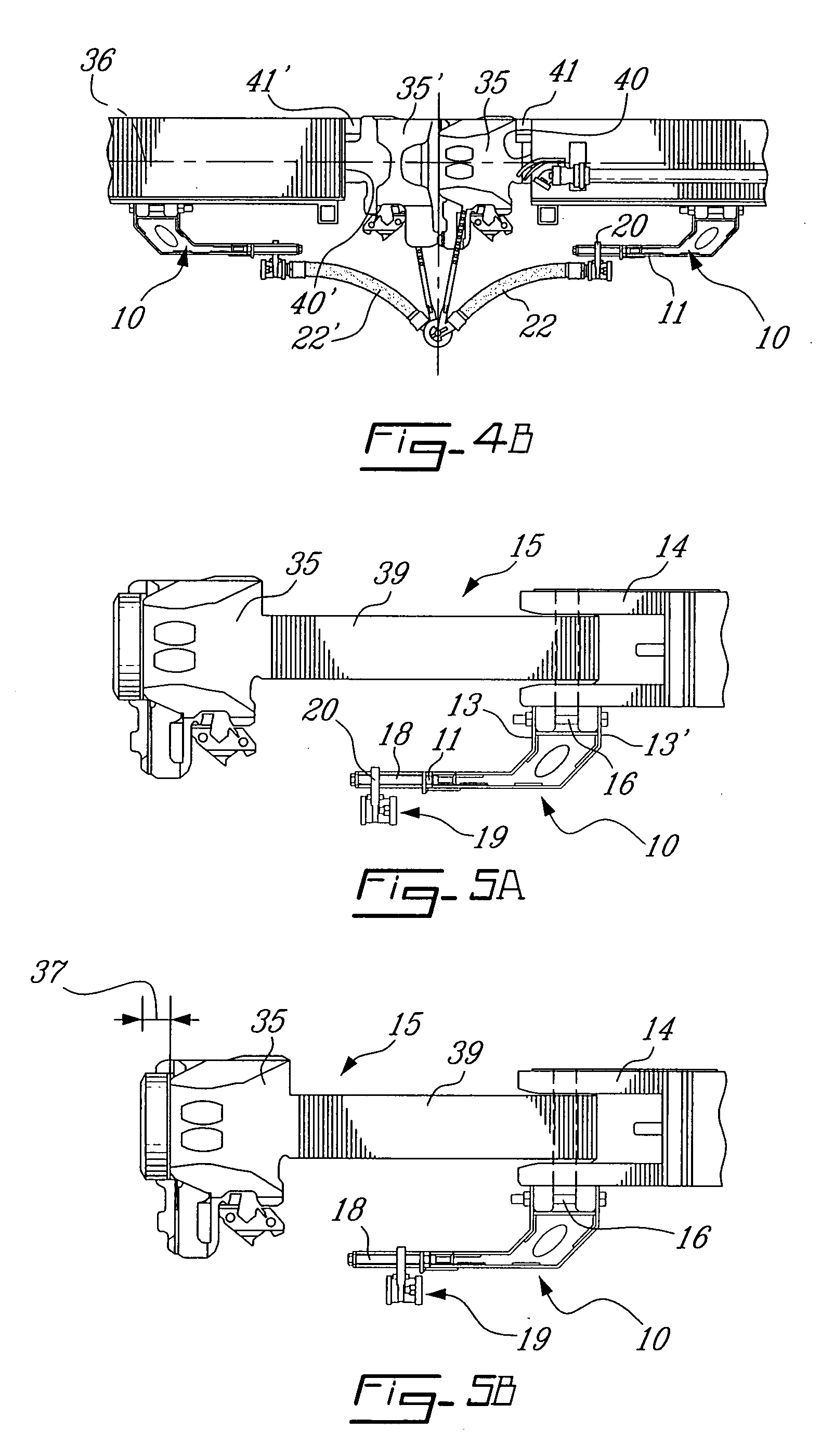 Patent us  hybrid support bracket for railcar