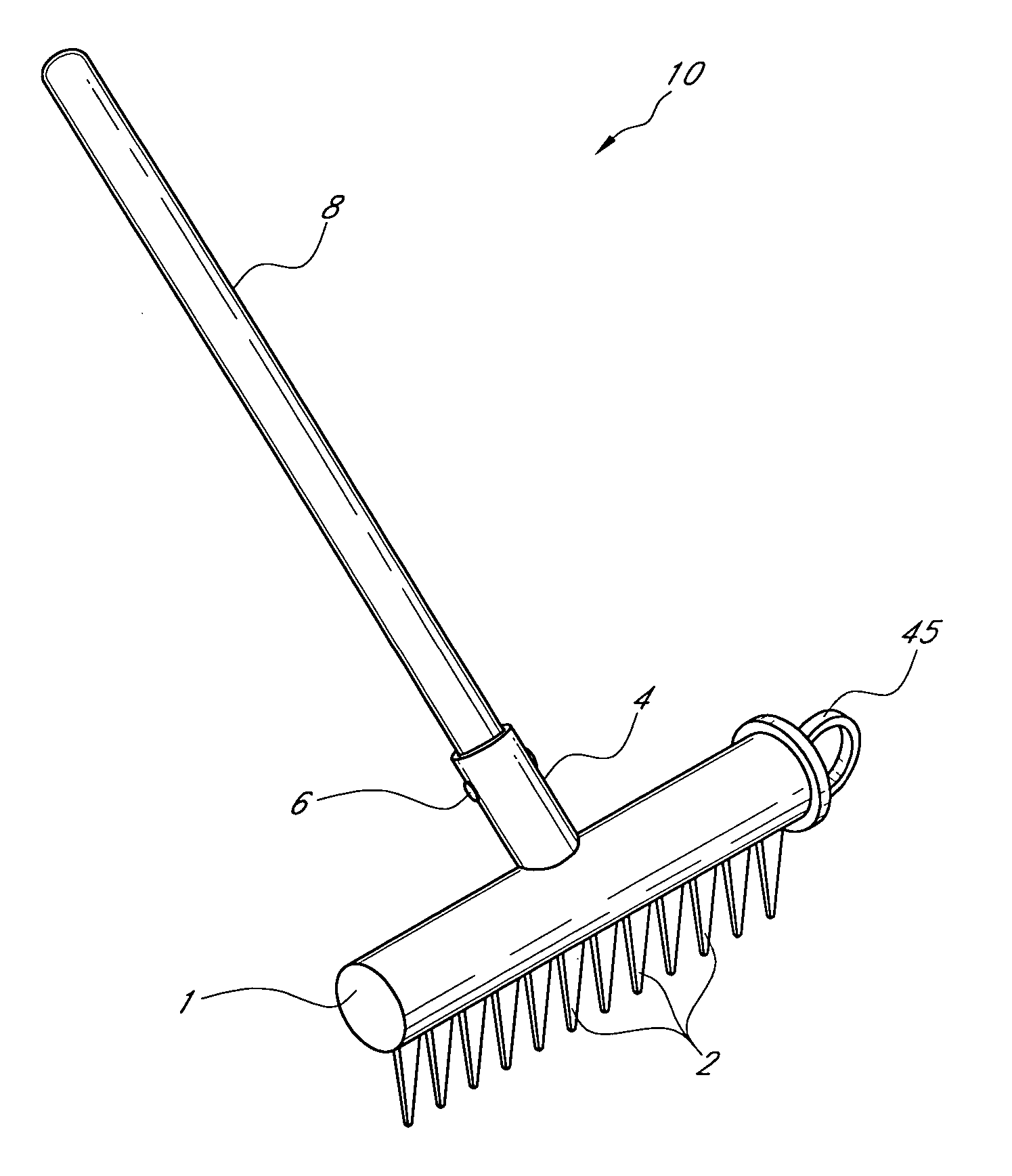 Free Coloring Pages Of Rake