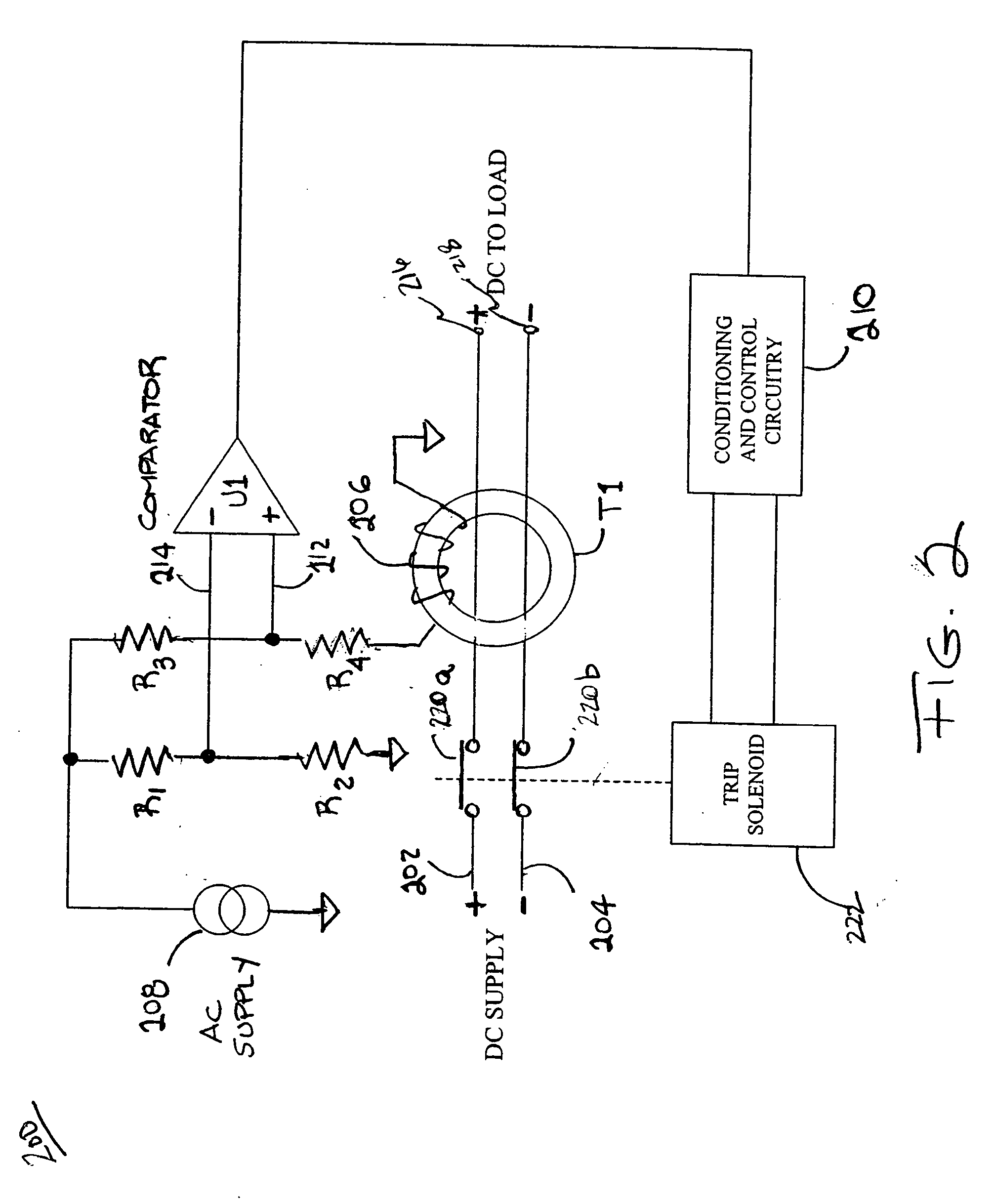 patent us20060187594 - dc ground fault circuit interrupter