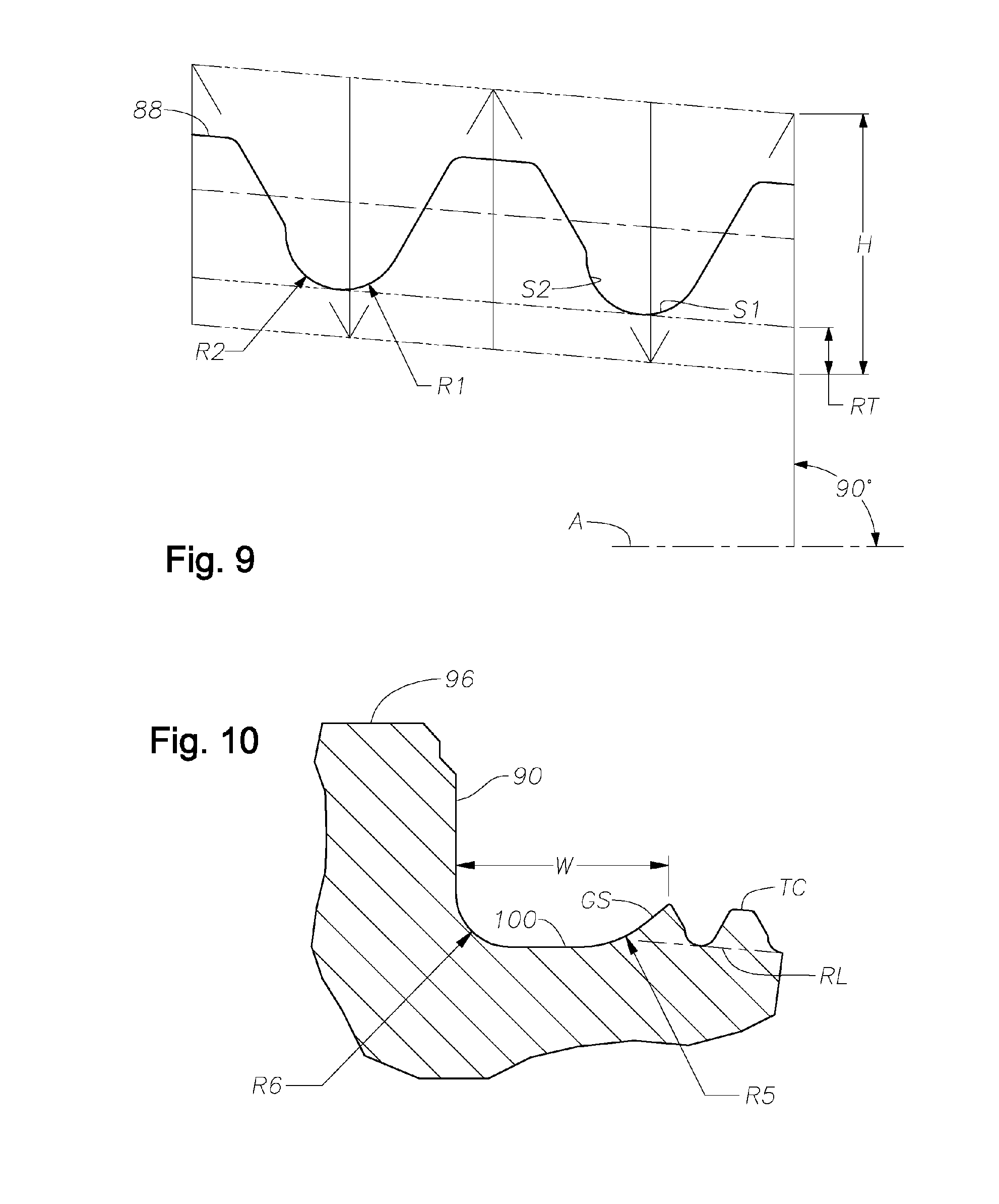 patent us20060214421 - fatigue resistant rotary shouldered connection and method